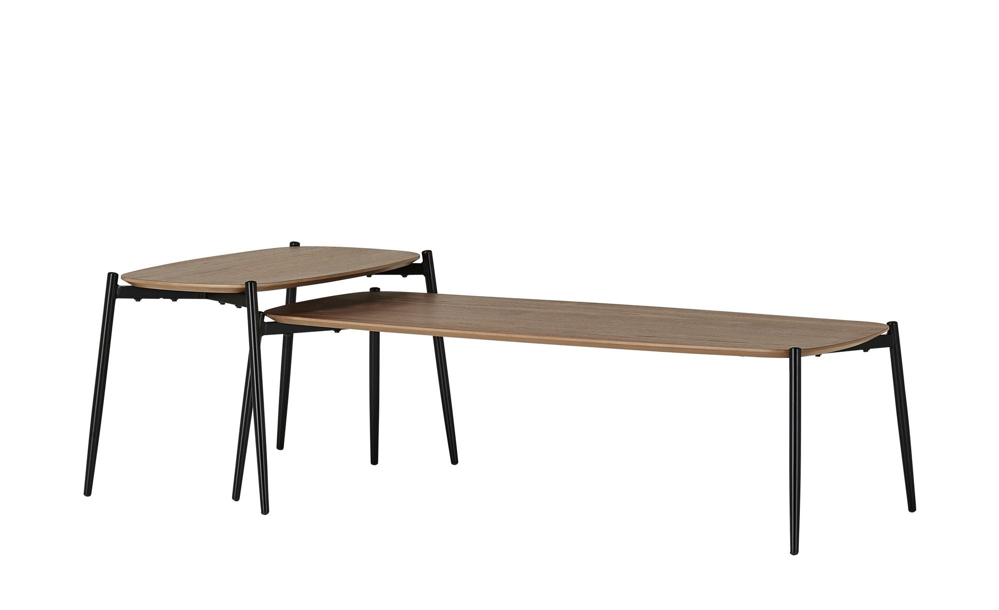 Couchtisch 2er-Set  Procida ¦ holzfarben ¦ Maße (cm): B: 50 H: 43,5 Tische > Couchtische > Couchtische rechteckig - Höffner