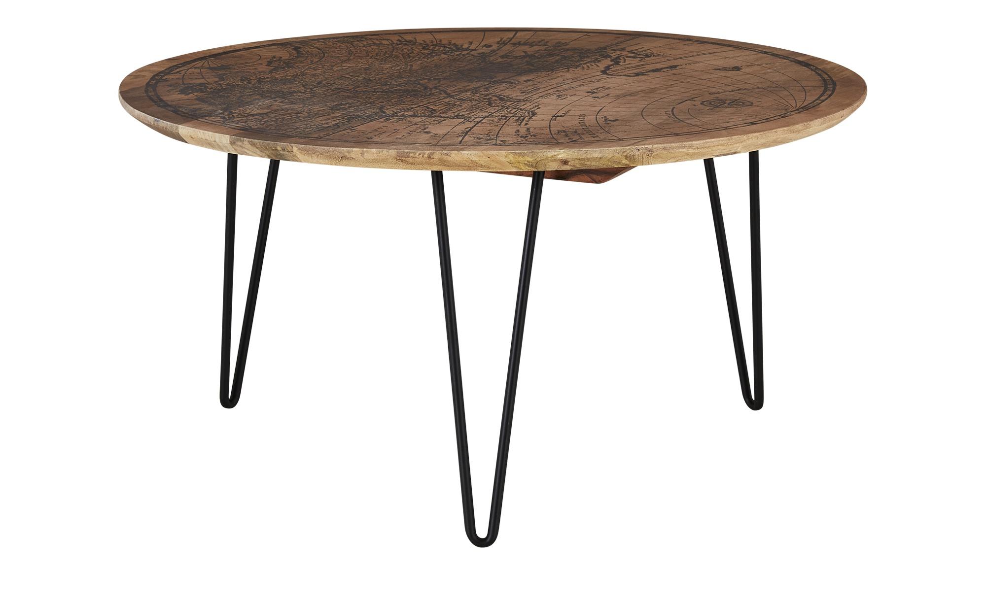 Couchtisch  Piazza ¦ holzfarben ¦ Maße (cm): H: 44 Ø: 90 Tische > Couchtische > Couchtische rund - Höffner