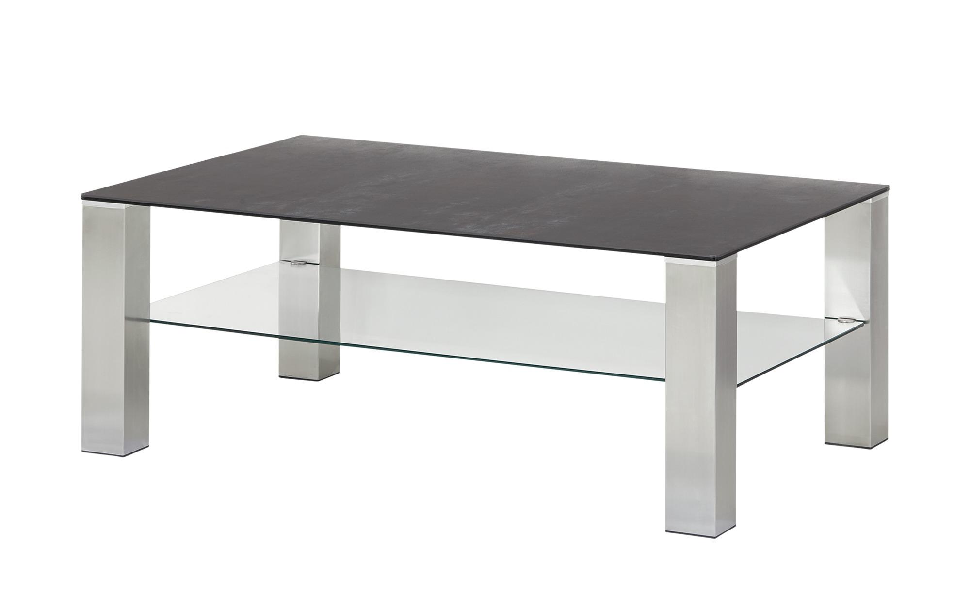 Couchtisch  Davina ¦ grau ¦ Maße (cm): B: 70 H: 42,5 Tische > Couchtische > Couchtische rechteckig - Höffner