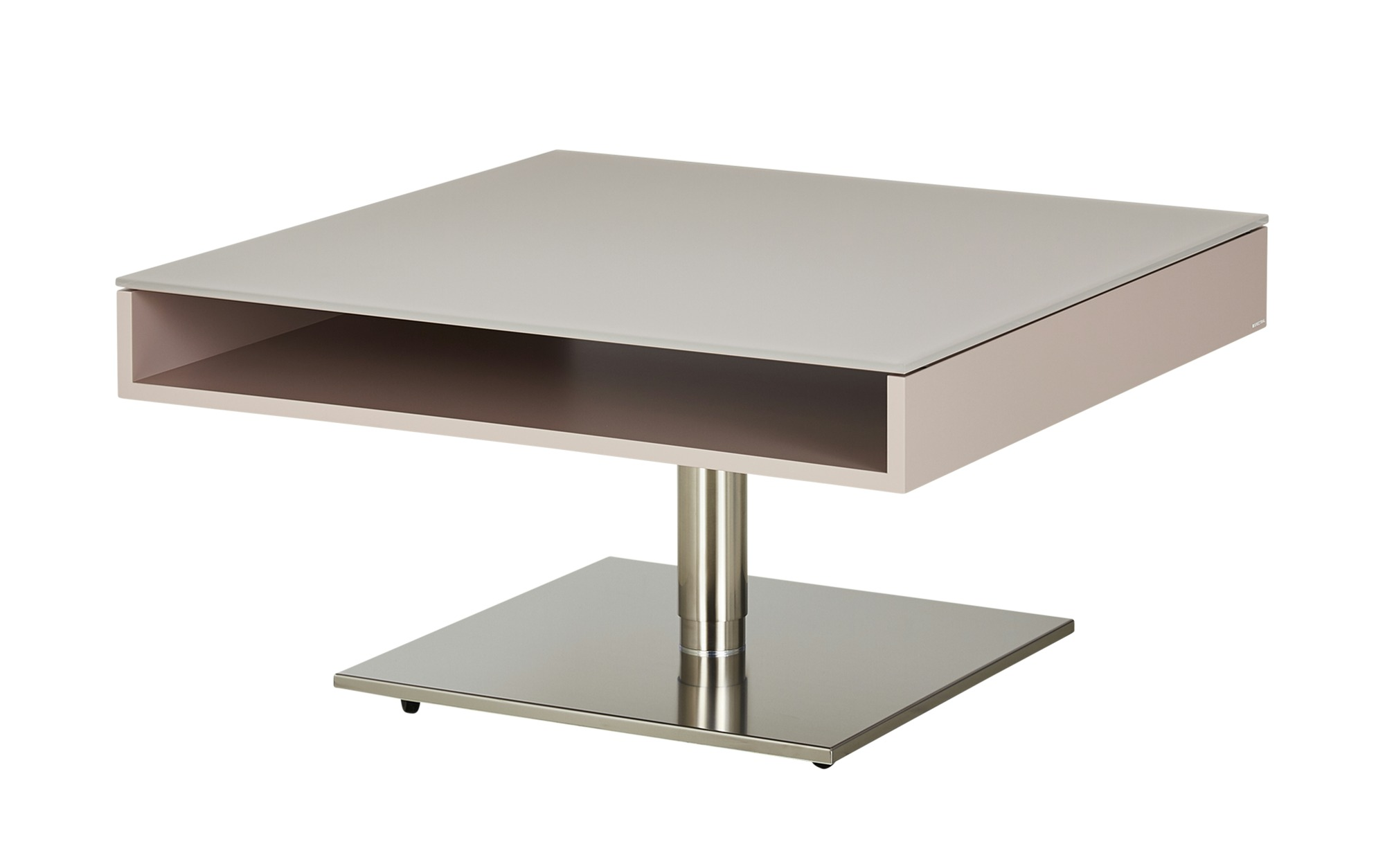 SPECTRAL Couchtisch  Tables ¦ rosa/pink ¦ Maße (cm): B: 90 H: 45 T: 90 Tische > Couchtische > Couchtische rechteckig - Höffner