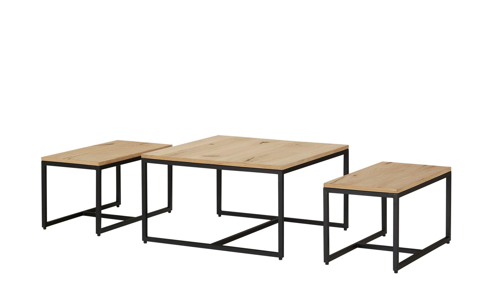 Couchtisch 3er- Set  Caprera ¦ holzfarben ¦ Maße (cm): B: 70 H: 40 Tische > Couchtische > Couchtische rechteckig - Höffner