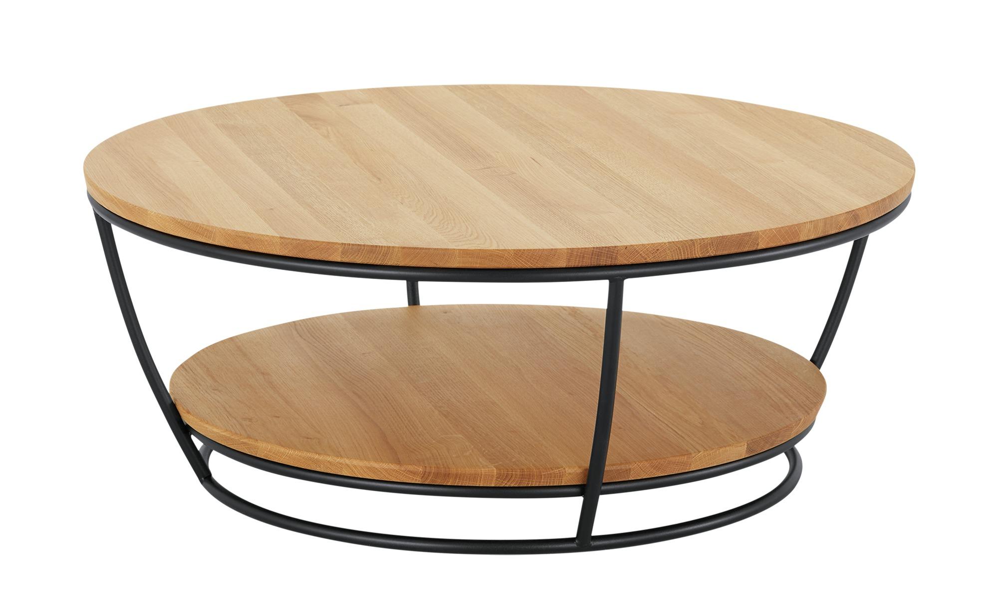 Couchtisch  Korfu ¦ holzfarben ¦ Maße (cm): H: 38 Ø: 92 Tische > Couchtische > Couchtische rund - Höffner