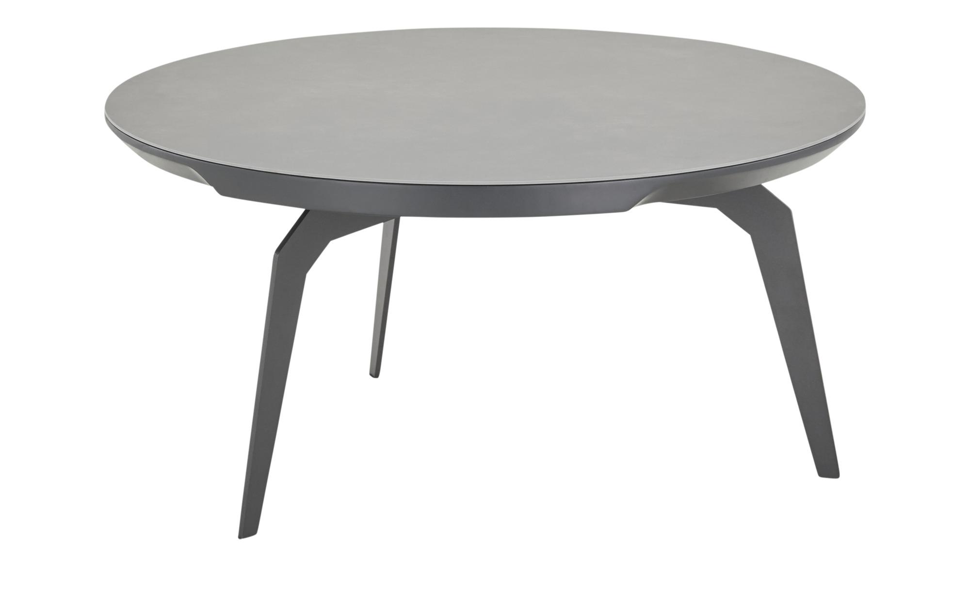 Couchtisch  Favignana ¦ grau ¦ Maße (cm): H: 40 Ø: 80 Tische > Couchtische > Couchtische rund - Höffner