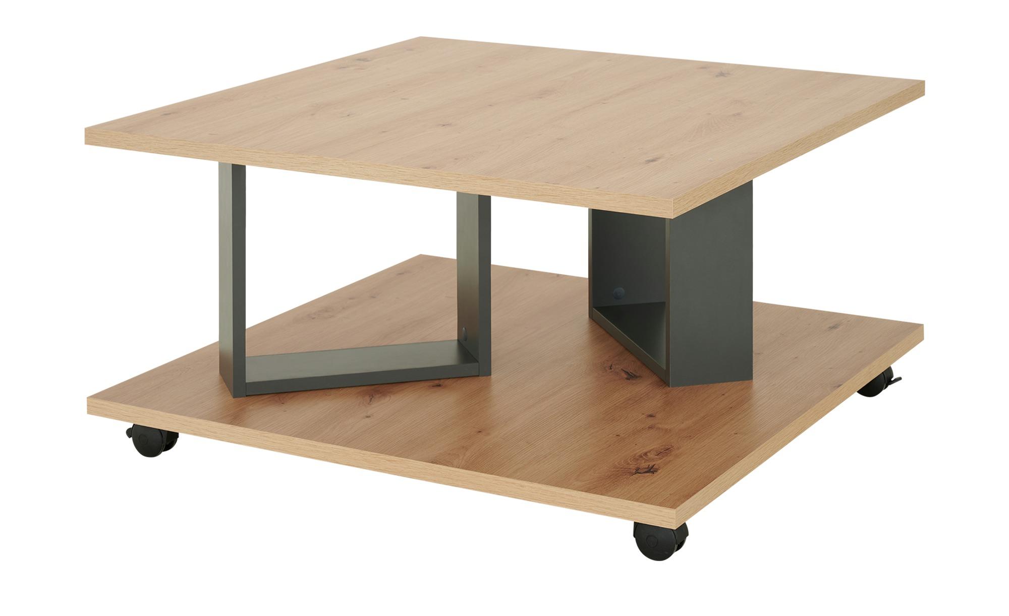Couchtisch  Arez ¦ holzfarben ¦ Maße (cm): B: 80 H: 40 Tische > Couchtische > Couchtische rechteckig - Höffner