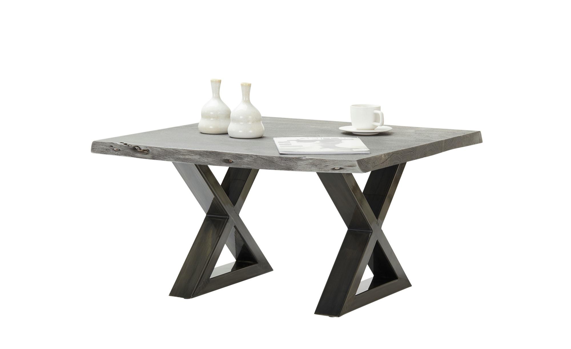 Woodford Couchtisch  Alabria ¦ grau ¦ Maße (cm): B: 75 H: 45 Tische > Couchtische > Couchtisch Massivholz - Höffner