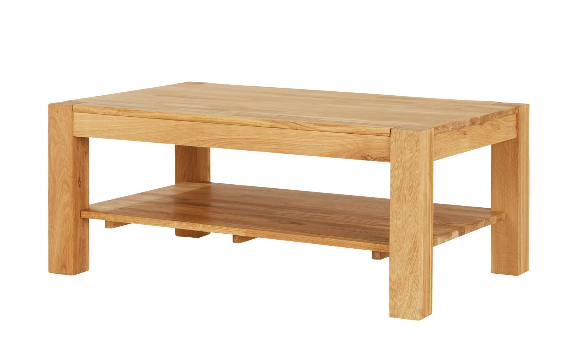 Couchtisch  Solido ¦ Maße (cm): B: 70 H: 46 Tische > Couchtische > Couchtisch Massivholz - Höffner