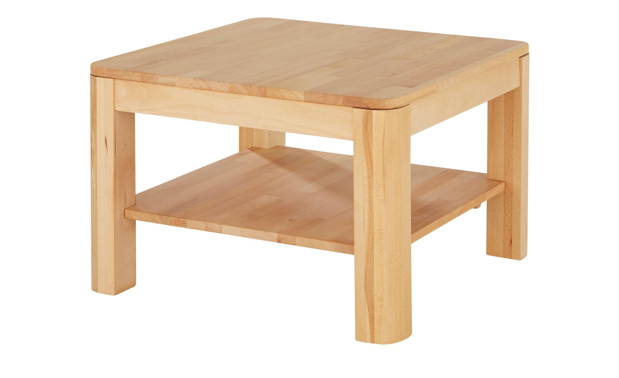 Couchtisch  Solido ¦ holzfarben ¦ Maße (cm): B: 70 H: 46 Tische > Couchtische > Couchtisch Massivholz - Höffner