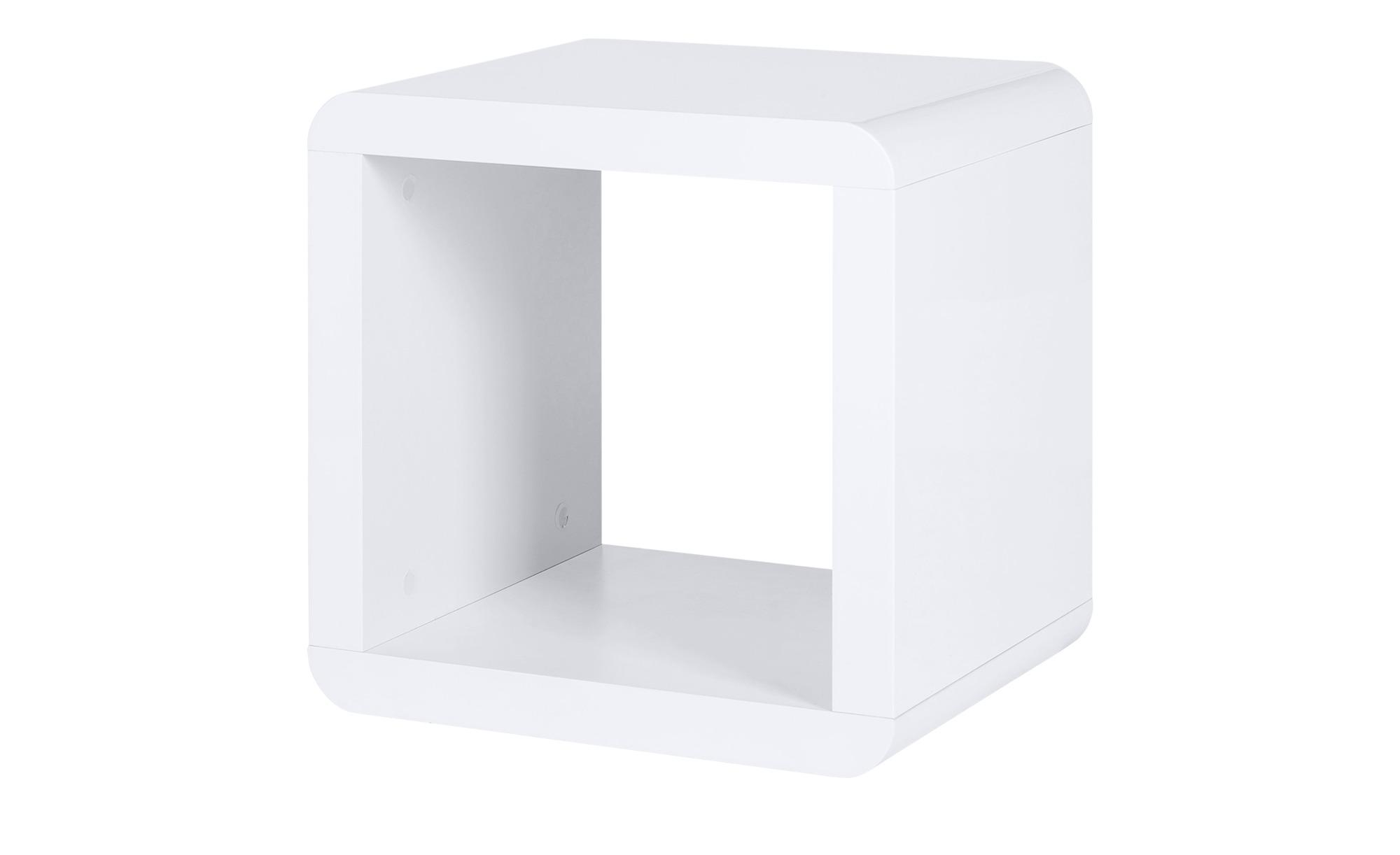 Regalwürfel   Polar ¦ weiß ¦ Maße (cm): B: 43 H: 43 T: 35 Regale > Bücherregale - Höffner | Wohnzimmer > Regale > Regalwürfel | Möbel Höffner DE