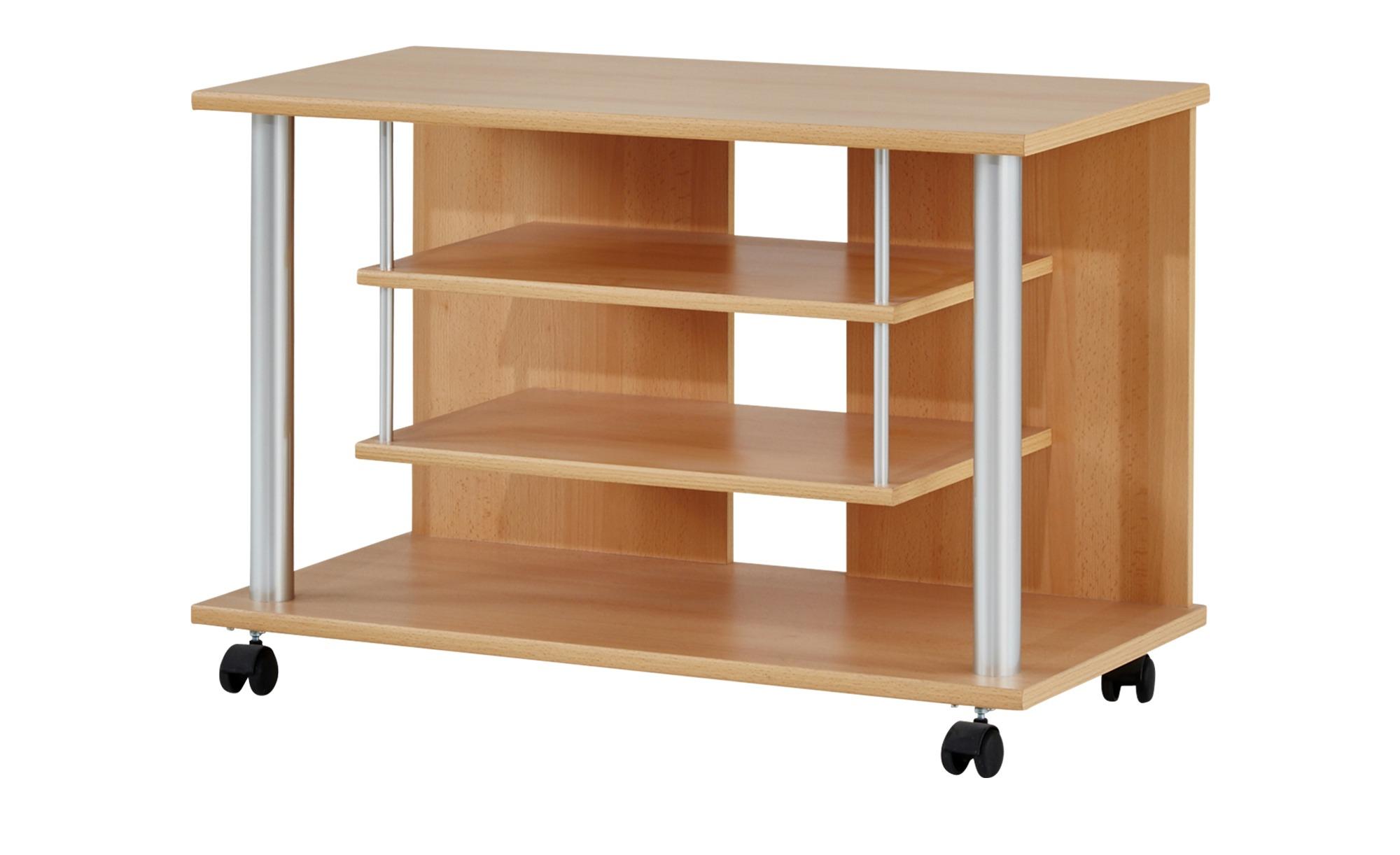 TV-Wagen  Mernes II ¦ holzfarben ¦ Maße (cm): B: 80 H: 54 T: 40 TV- & Media Möbel > TV-Racks - Höffner