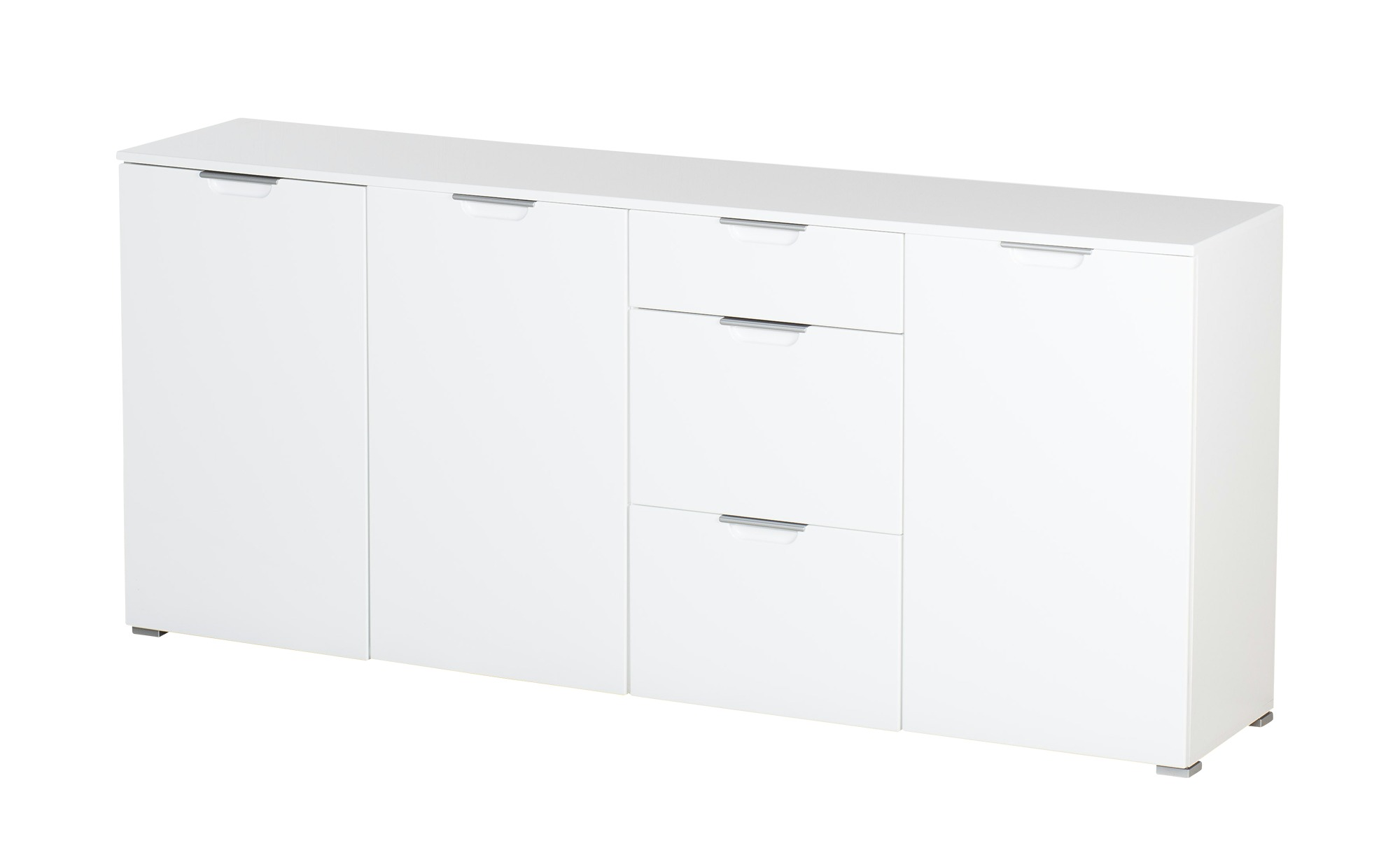 uno Sideboard  PORTER ¦ weiß ¦ Maße (cm): B: 192 H: 85 T: 40 Kommoden & Sideboards > Kommoden - Höffner