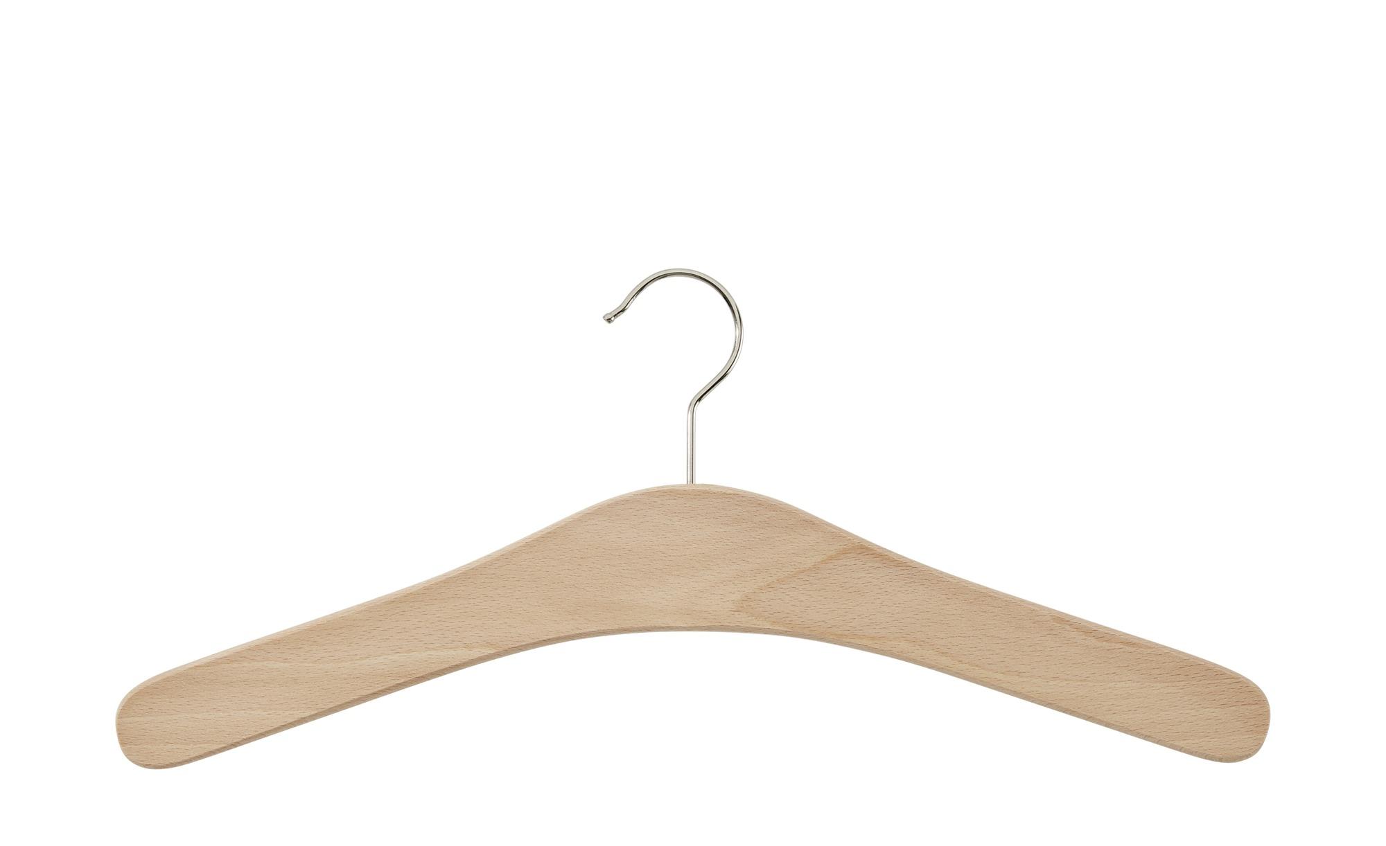 Klassischer Kleiderbügel aus Holz