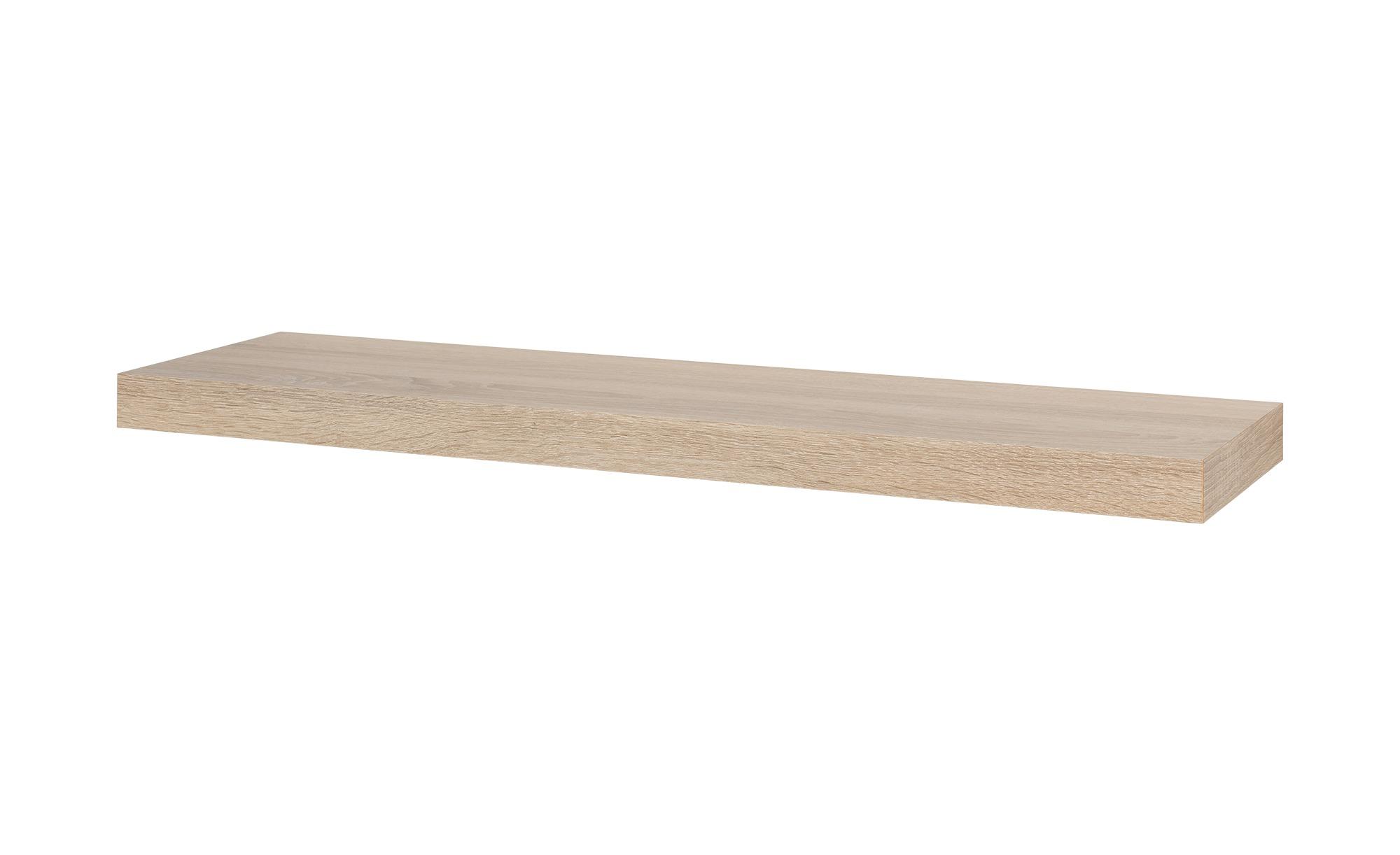 Regalboden  Big Board ¦ holzfarben ¦ Maße (cm): B: 90 H: 5 T: 25 Regale > Wandboards - Höffner | Wohnzimmer > Schränke > Sideboards | Holzfarben | Kunststoff | Möbel Höffner DE
