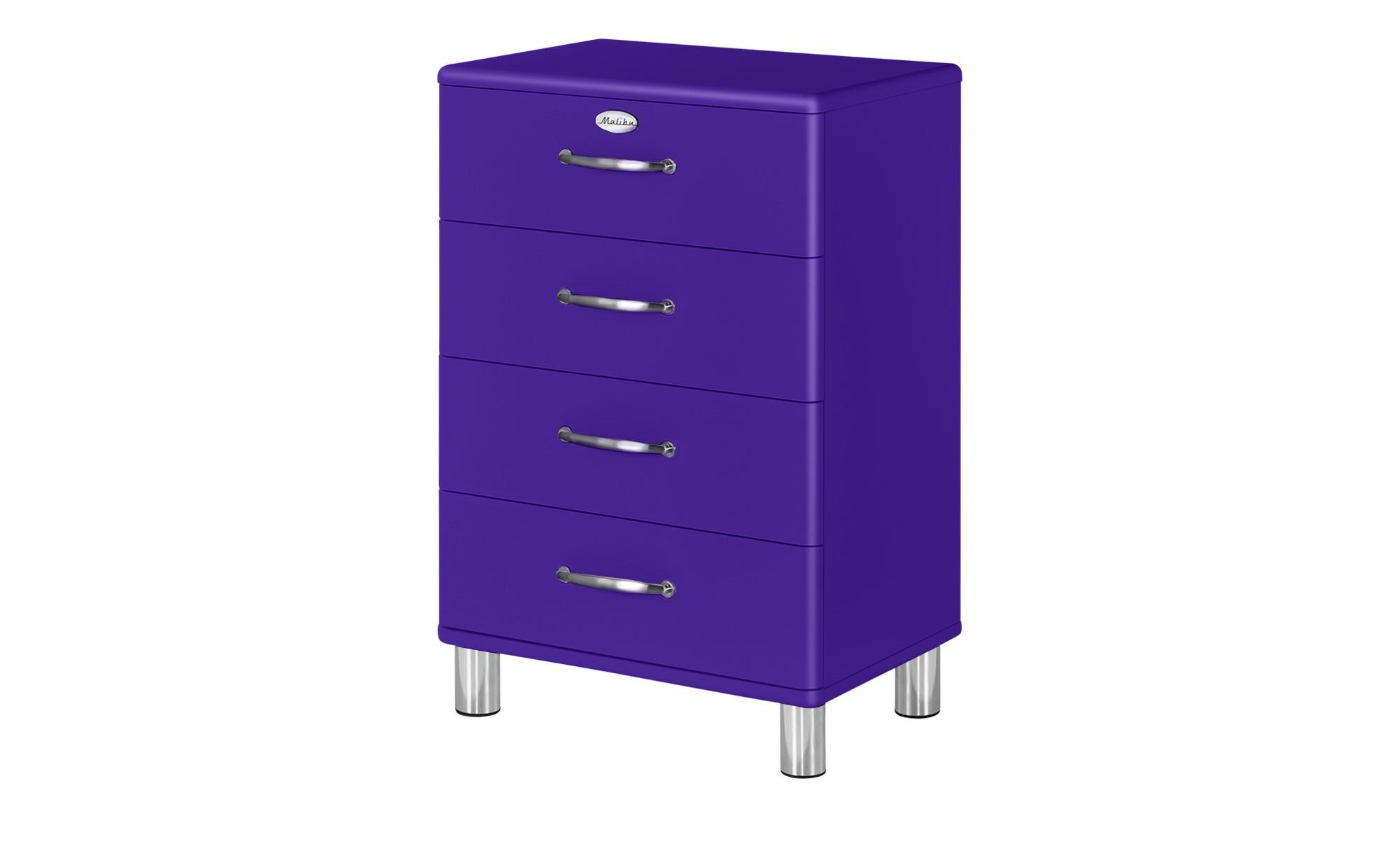 Kommode  Malibu ¦ lila/violett ¦ Maße (cm): B: 60 H: 92 T: 41 Kommoden & Sideboards > Kommoden - Höffner