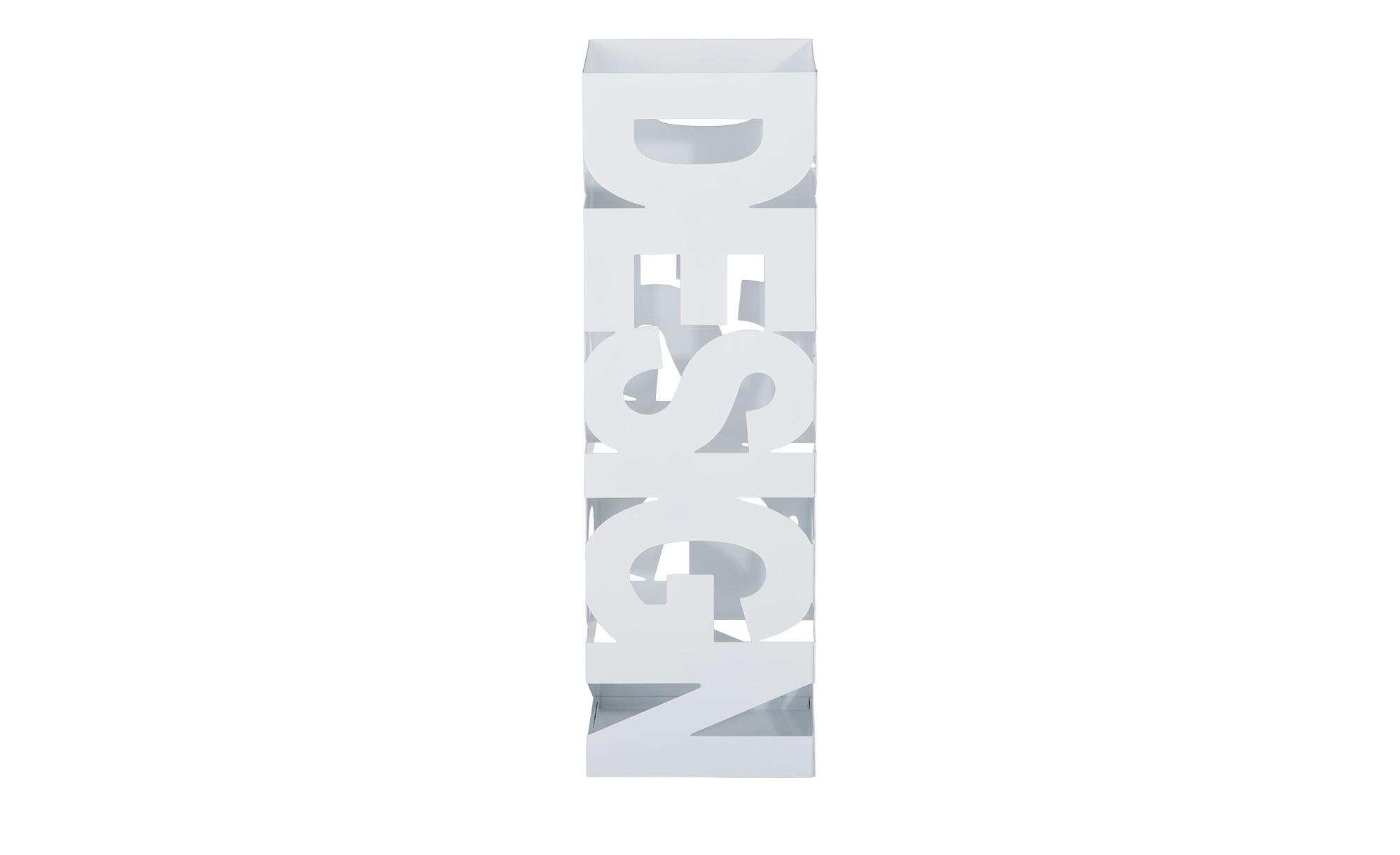 Schirmständer Hilden Weiß Möbel Höffner