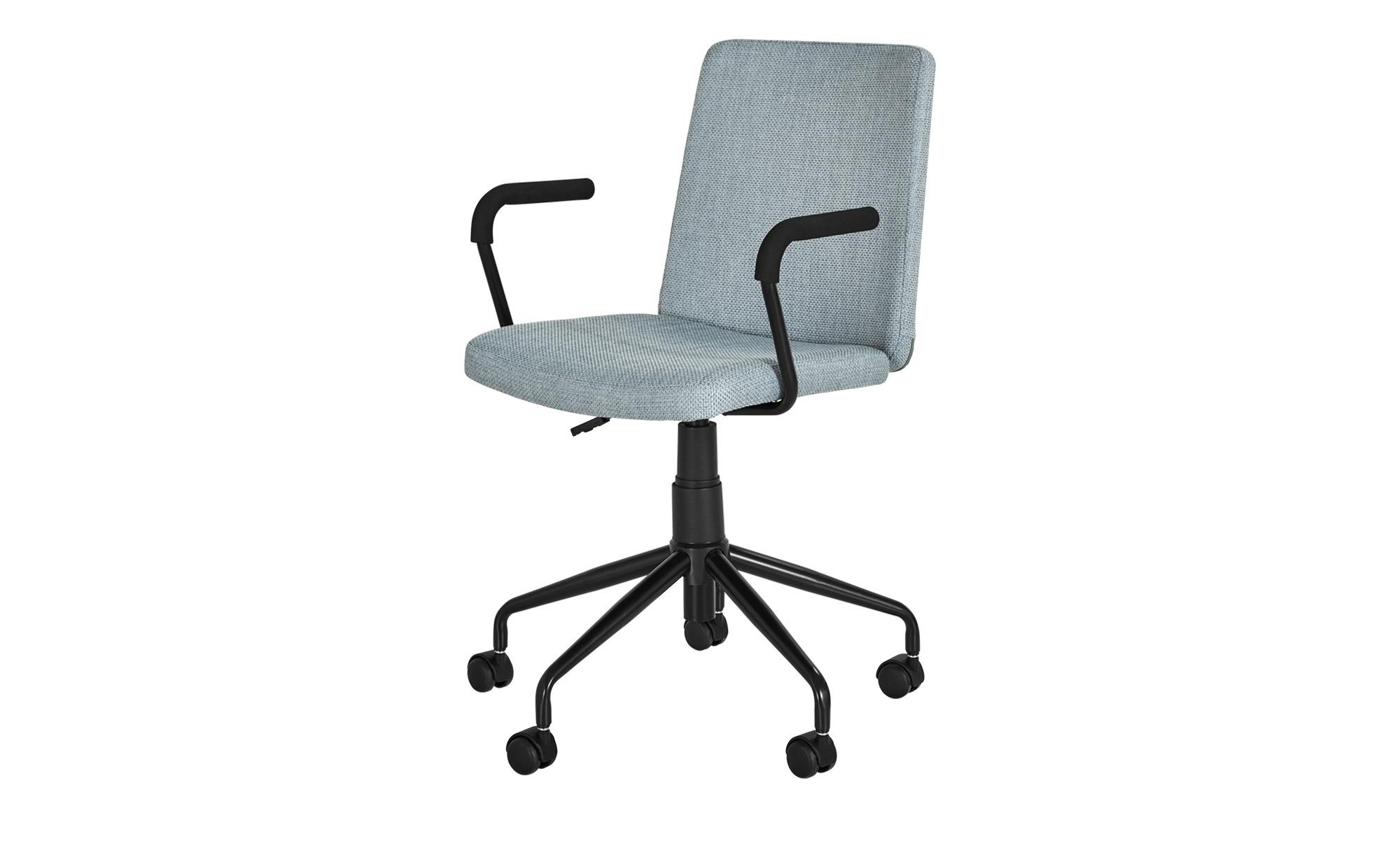 Bürodrehstuhl  Andoma ¦ blau Stühle > Bürostühle > Drehstühle - Höffner