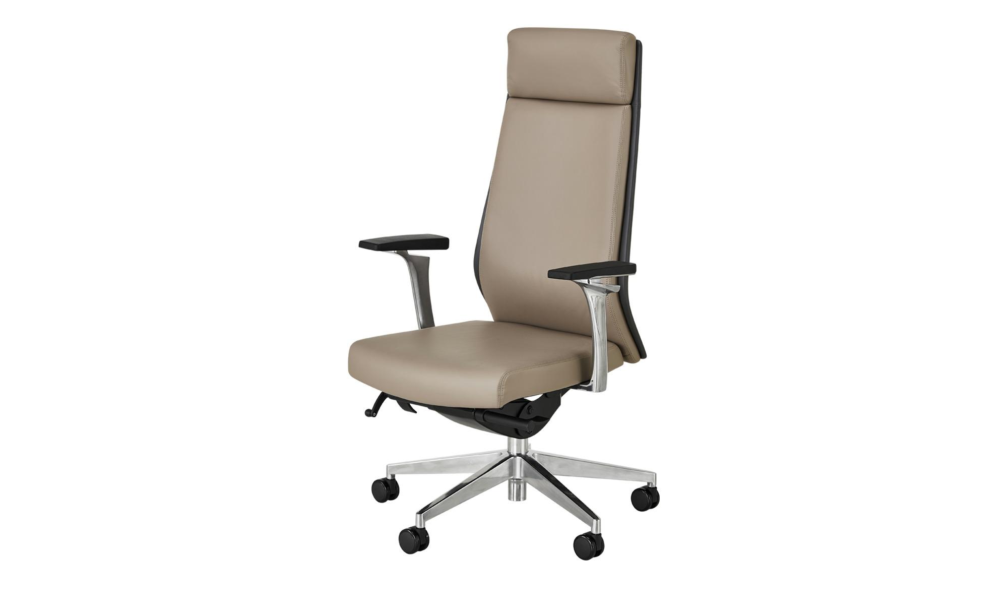 Chefsessel  Schede ¦ grau Stühle > Bürostühle > Chefsessel - Höffner | Büro > Bürostühle und Sessel  > Chefsessel | Grau | Kunstleder - Echtleder | Möbel Höffner DE