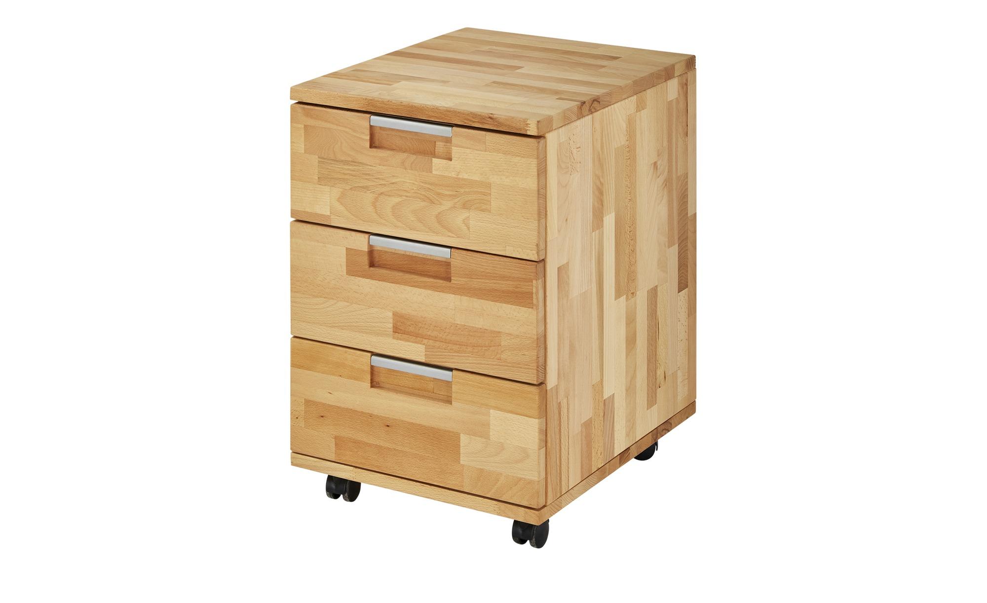 Rollcontainer  Mittwitz 2 ¦ holzfarben ¦ Maße (cm): B: 38,5 H: 59 T: 46,5 Schränke > Rollcontainer - Höffner