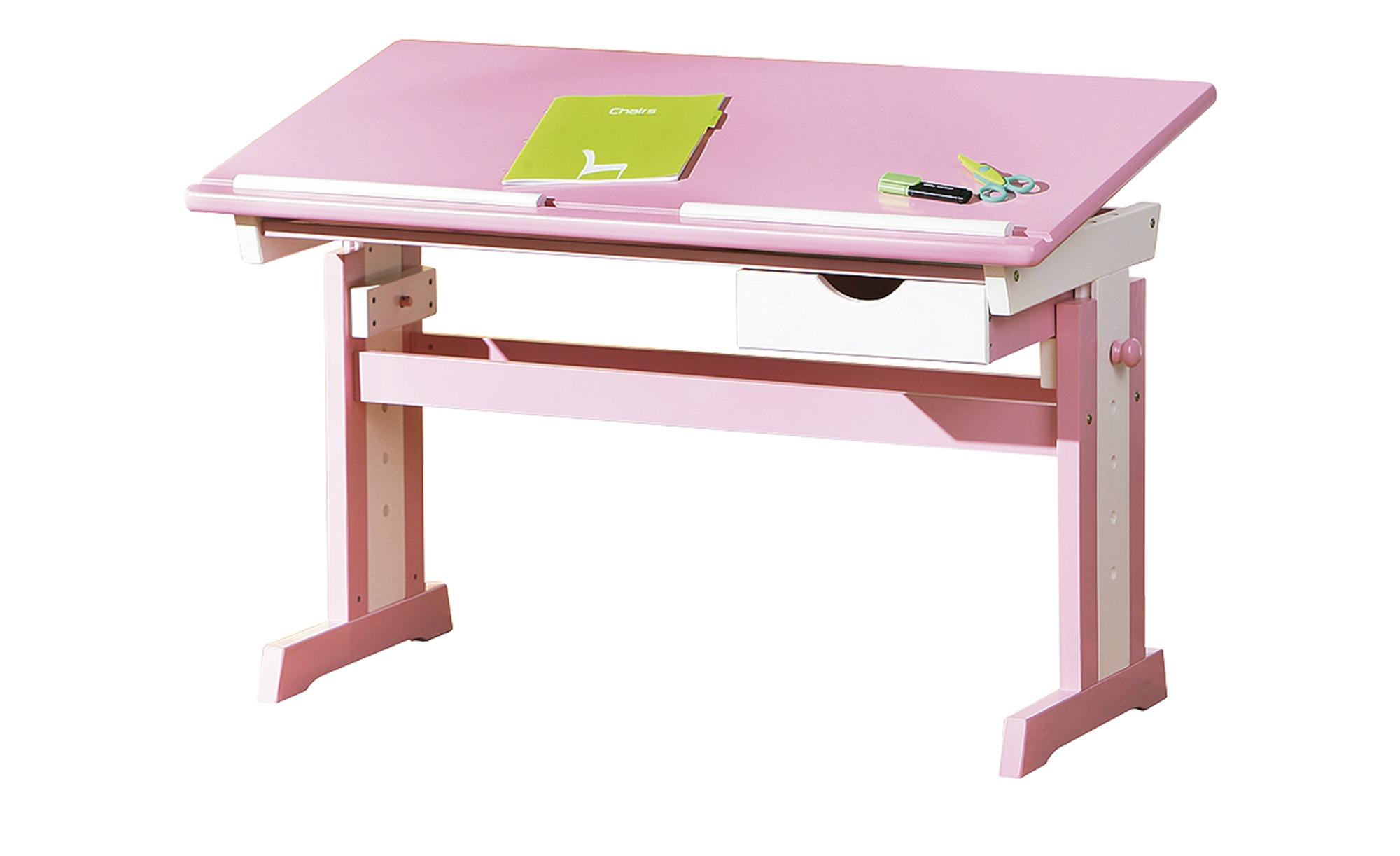 Schreibtisch  Isle ¦ rosa/pink ¦ Maße (cm): B: 109 H: 63 T: 55 Kindermöbel > Kinderschreibtische - Höffner