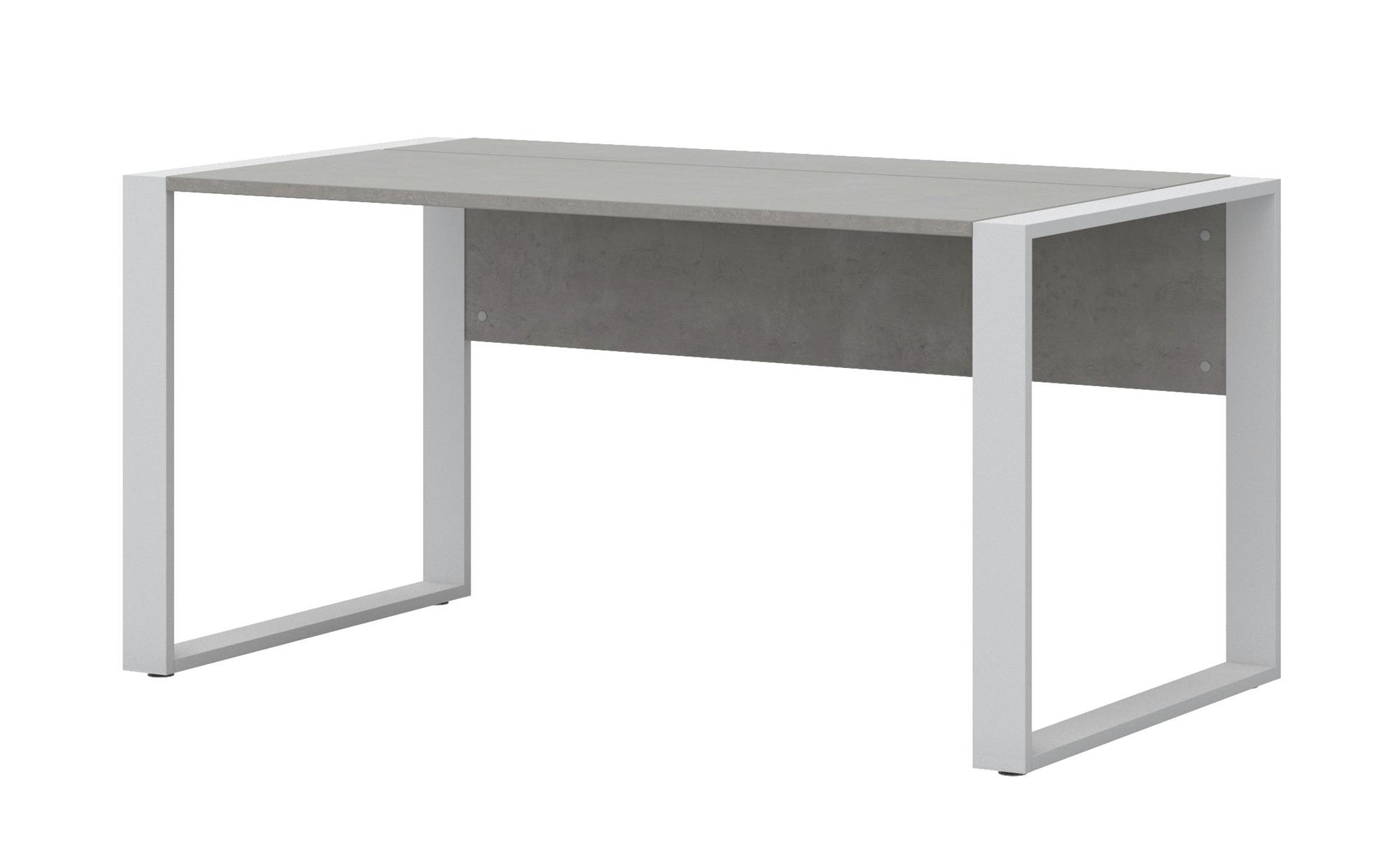 Schreibtisch  Donez ¦ grau ¦ Maße (cm): B: 150 H: 74 T: 80 Tische > Schreibtische - Höffner | Büro > Bürotische | Möbel Höffner DE