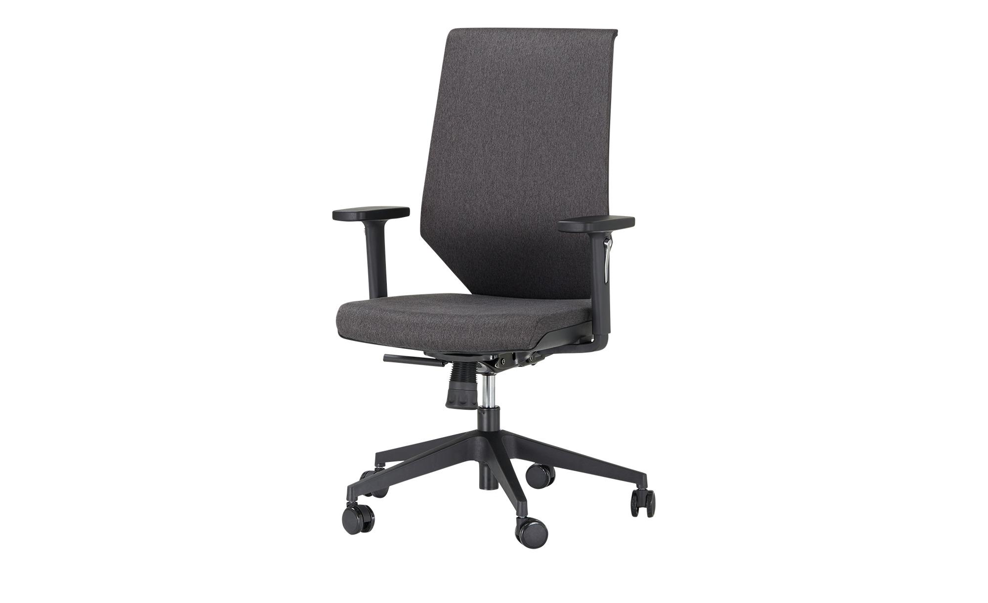 Bürodrehstuhl  Zala ¦ grau Stühle > Bürostühle > Drehstühle - Höffner