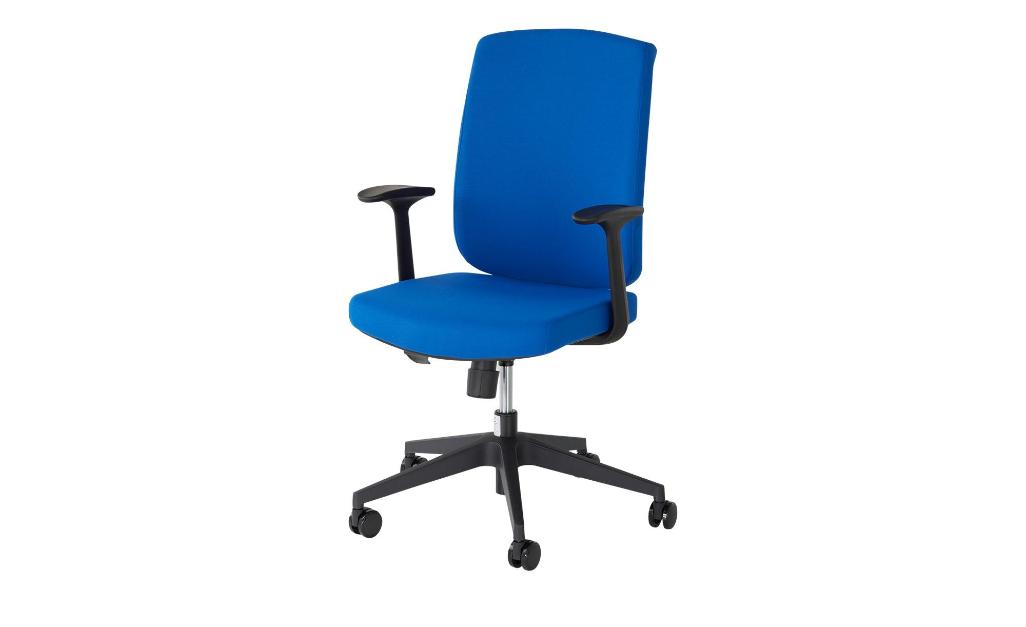 Bürodrehstuhl  Ziller ¦ blau Stühle > Bürostühle > Drehstühle - Höffner