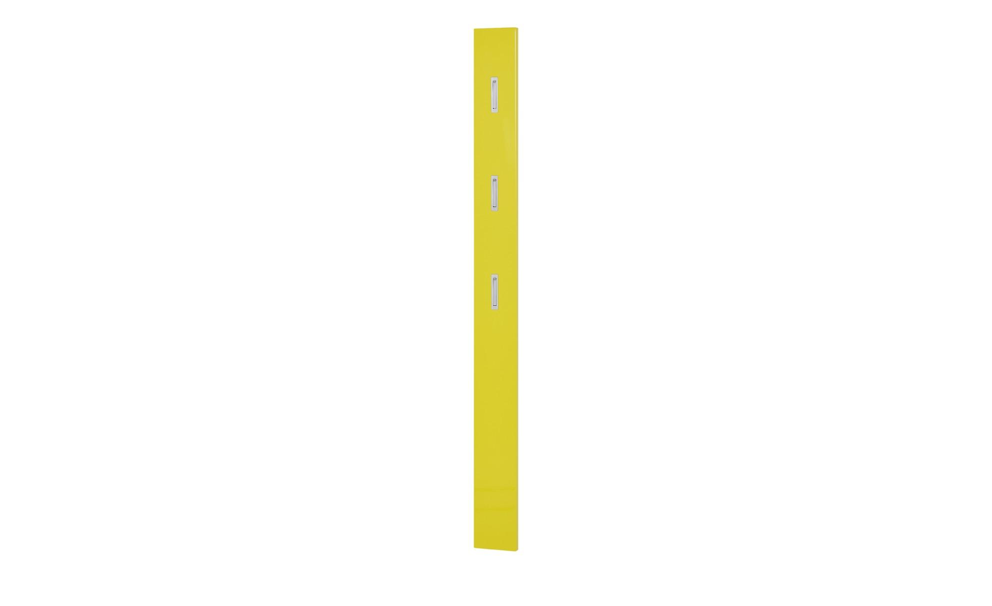uno garderobenpaneel rainbow gelb masse cm b 15 h 170 t 2 garderoben kleiderstangen garderoben hoffner