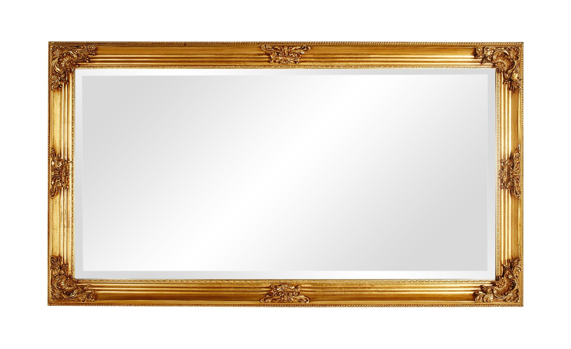 Eleganter Wandspiegel in Gold
