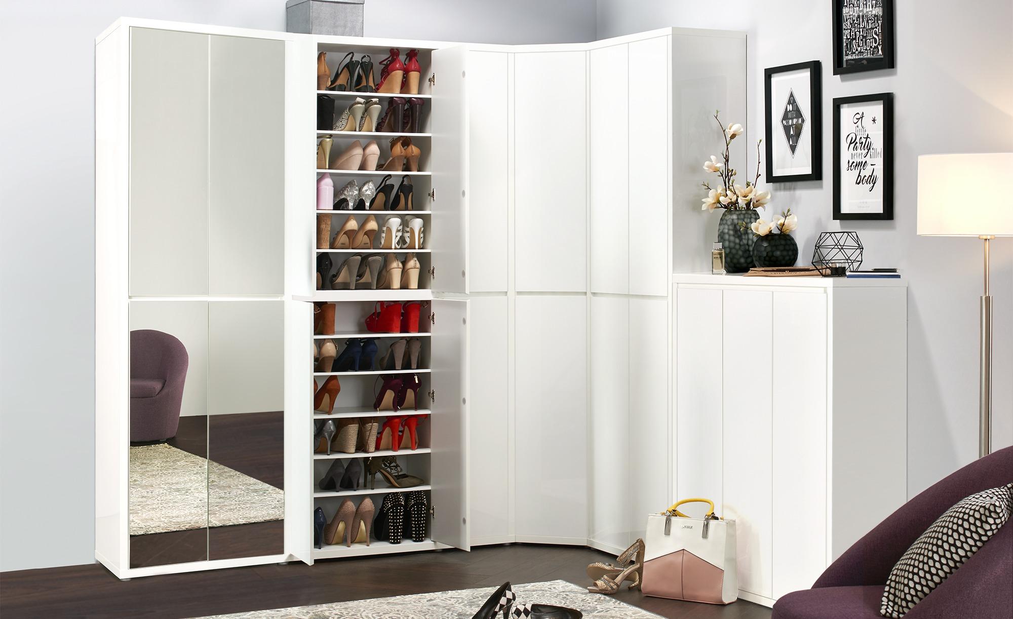 Schuh Und Mehrzweckschrank Mit Spiegel Cabino