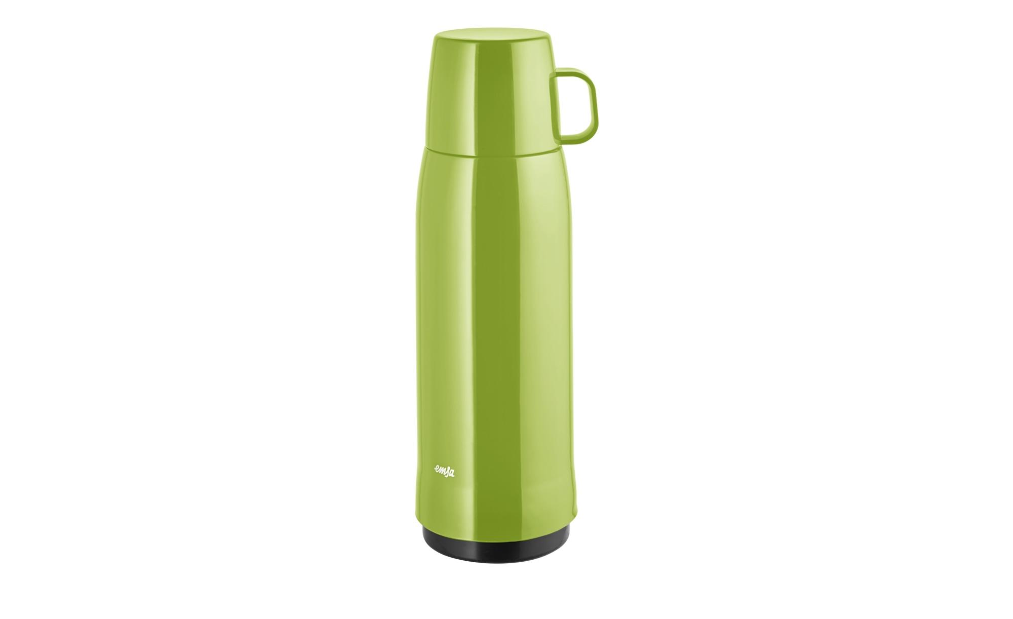 emsa Isolierflasche  Rocket ¦ grün ¦ Polypropylen, Kunststoff ¦ Maße (cm): B: 10,5 H: 32 Kaffee & Tee > Kaffee- & Isolierkannen - Höffner | Küche und Esszimmer > Besteck und Geschirr > Kannen und Wasserkessel | Grün | Kunststoff | Möbel Höffner DE
