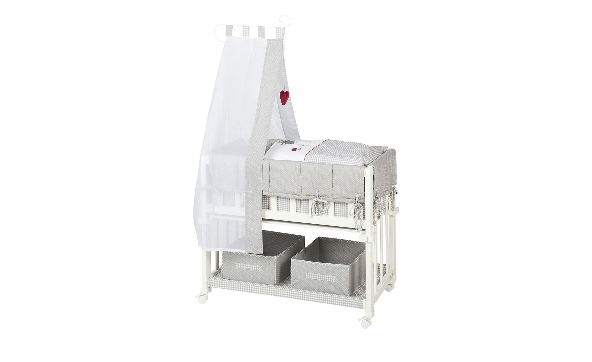 Roba komplettstubenbett 40x80 weiß & grau adam & eule adam & eule