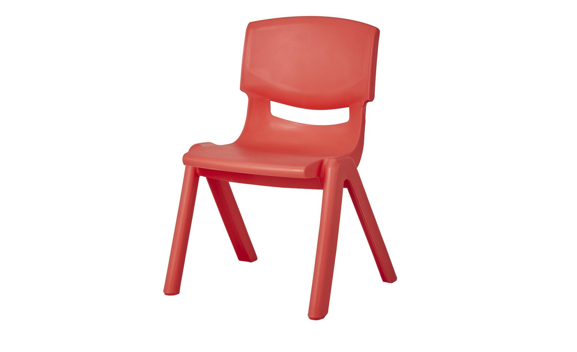 Kinderstuhl ¦ rot ¦ Maße (cm): B: 26 H: 53 T: 26 Kindermöbel > Kinderdrehstühle - Höffner | Kinderzimmer > Kinderzimmerstühle > Kinderstühle | Möbel Höffner DE