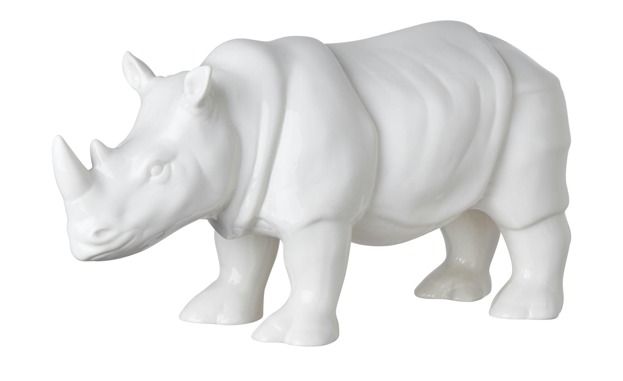 Türschild Dekoschild « Rhino » Rhinozeros Nashorn