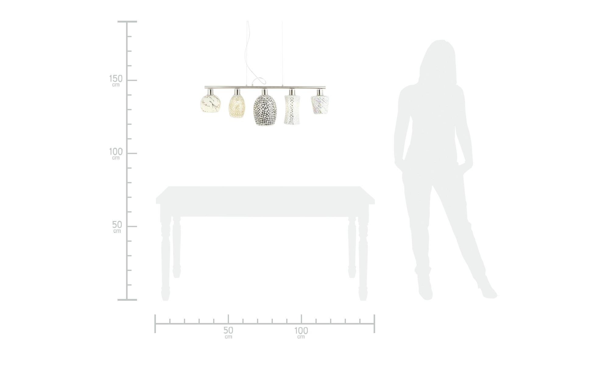 Pendelleuchte, Mosaik-Design ¦ mehrfarbig ¦ Maße (cm): H: 150 Lampen & Leuchten > Innenleuchten > Pendelleuchten - Höffner