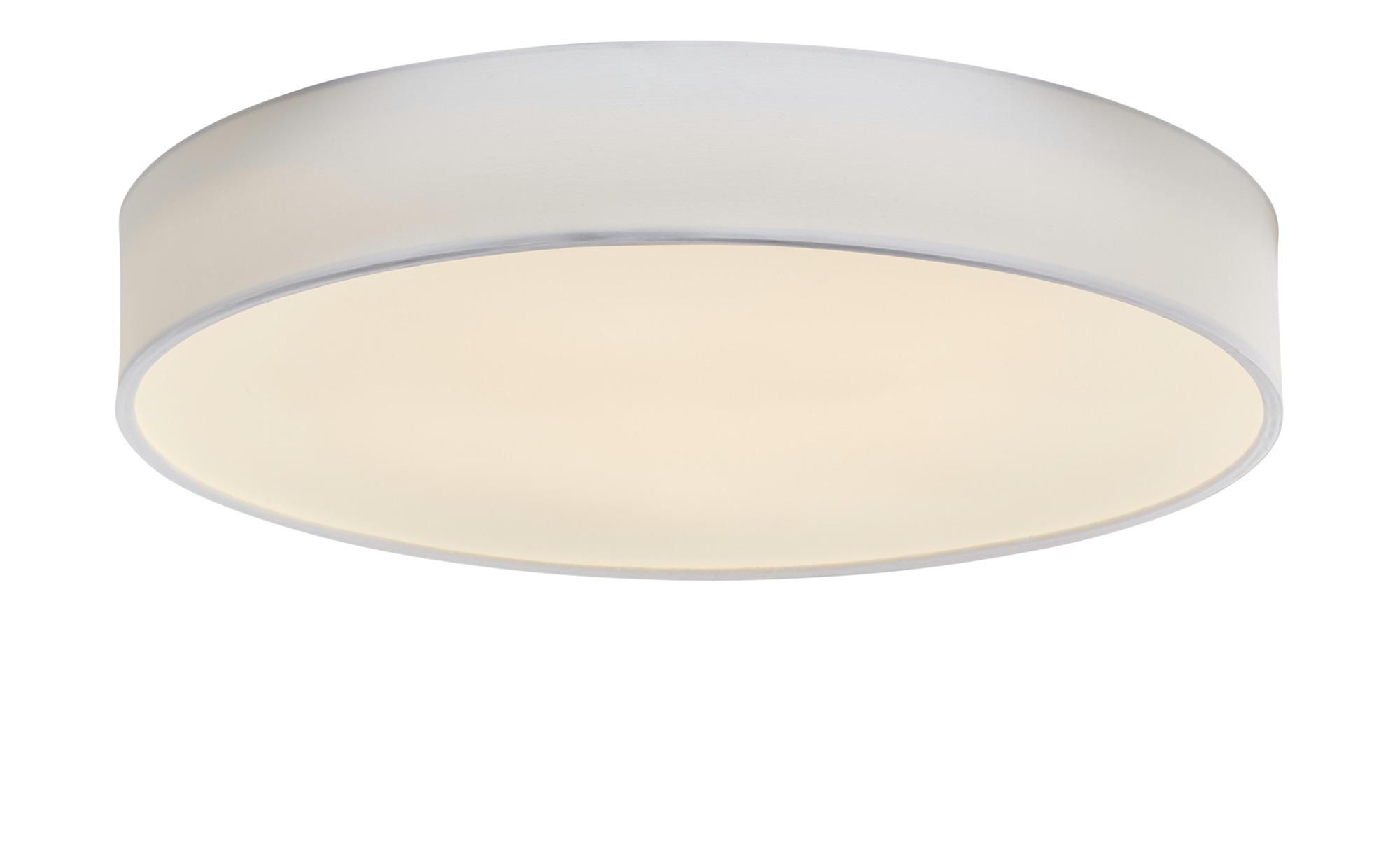 Trio LED-Deckenleuchte mit Stoffschirm ¦ weißØ: [60.0] Lampen & Leuchten > Innenleuchten > Deckenleuchten - Höffner