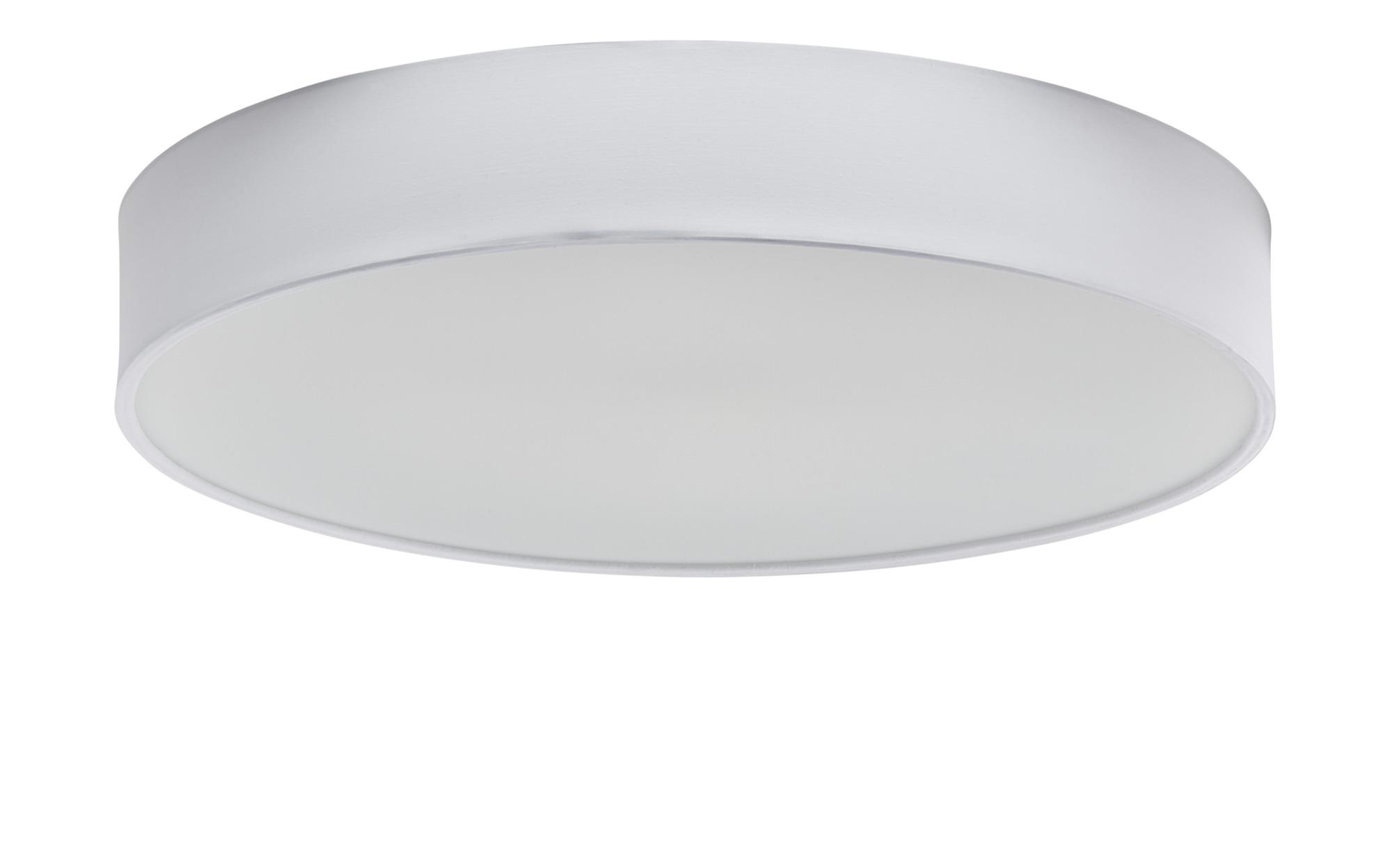 Trio LED-Deckenleuchte mit Stoffschirm ¦ weißØ: 60 Lampen & Leuchten > Innenleuchten > Deckenleuchten - Höffner