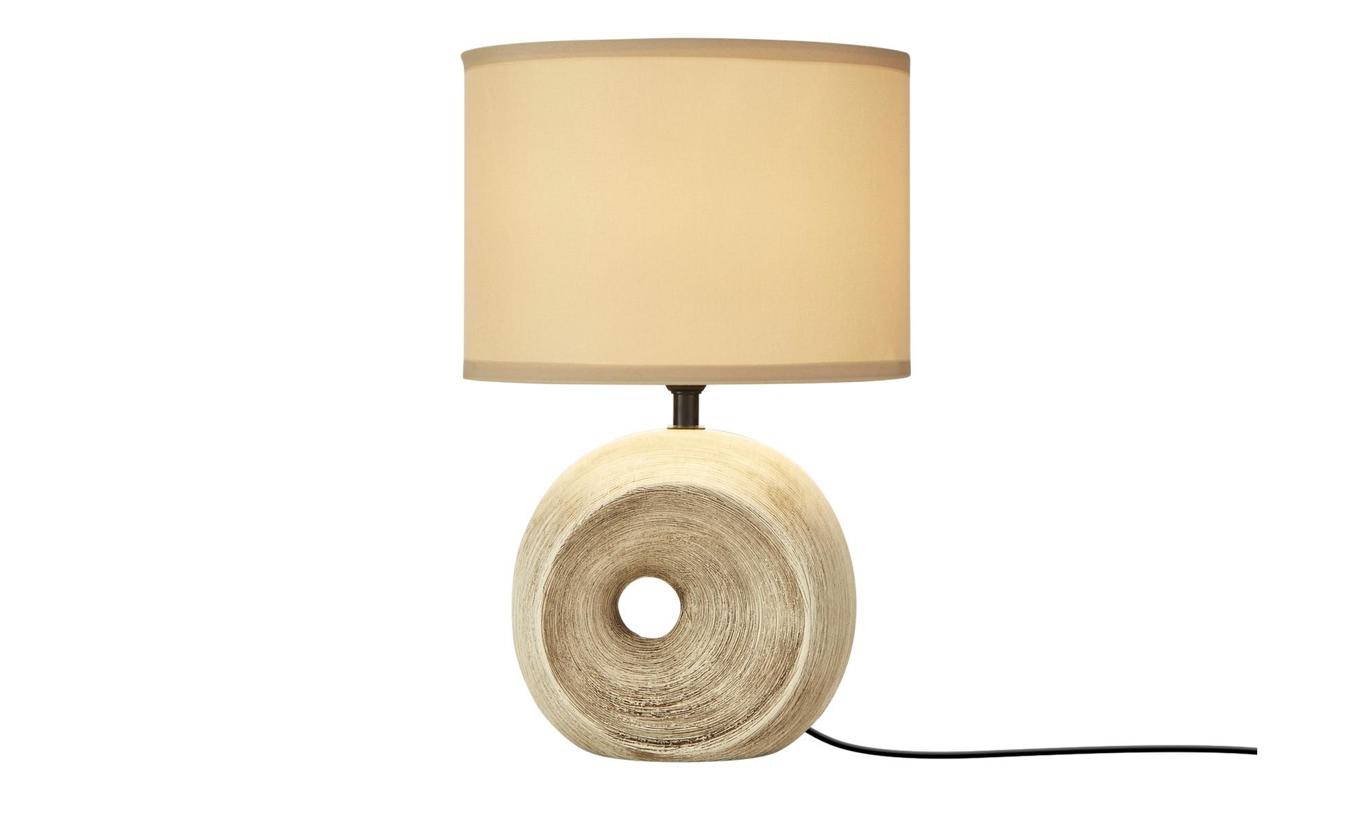 Keramik-Tischleuchte, 1-flammig ¦ braun ¦ Maße (cm): H: 35 Lampen & Leuchten > Innenleuchten > Tischlampen - Höffner