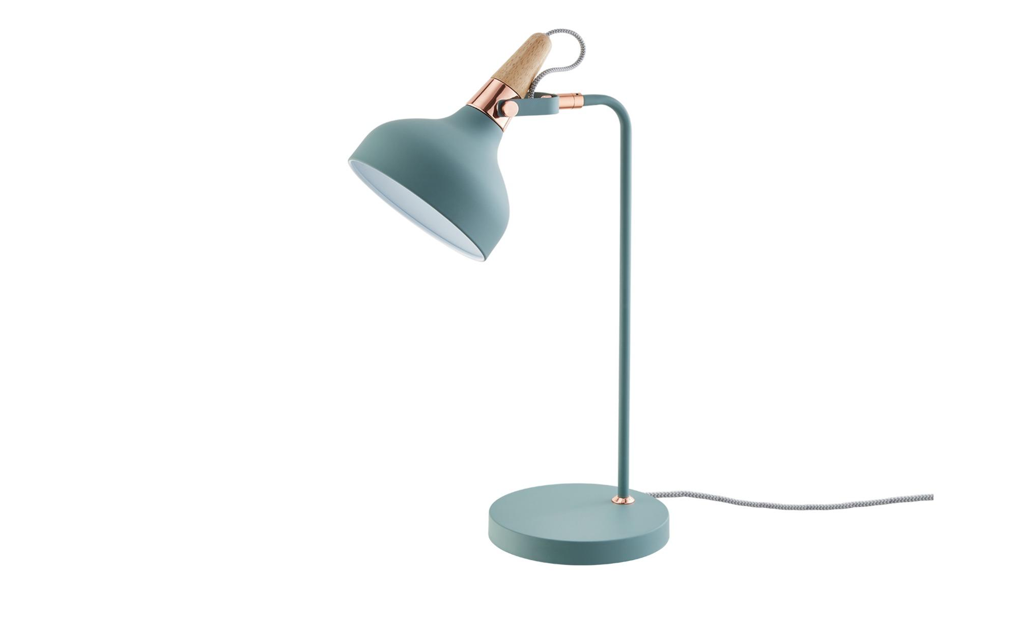 Tischleuchte, 1-flammig ¦ grün ¦ Maße (cm): B: 18 H: 51 T: 25,5 Lampen & Leuchten > Innenleuchten > Tischlampen - Höffner