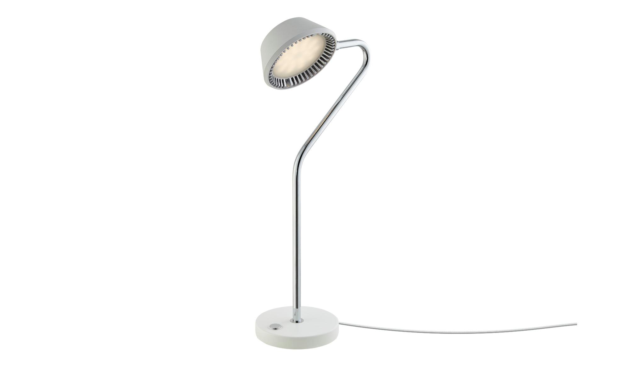 LED-Tischleuchte, Weiß ¦ weiß ¦ Maße (cm): H: 44 Ø: [12.0] Lampen & Leuchten > Innenleuchten > Tischlampen - Höffner