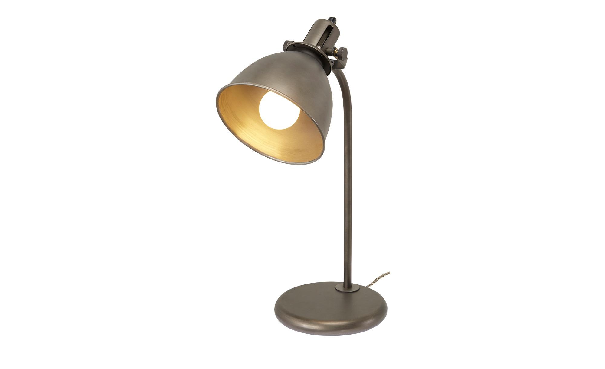 Tischleuchte, 1-flammig, schwarz ¦ schwarz ¦ Maße (cm): H: 46 Lampen & Leuchten > Innenleuchten > Tischlampen - Höffner