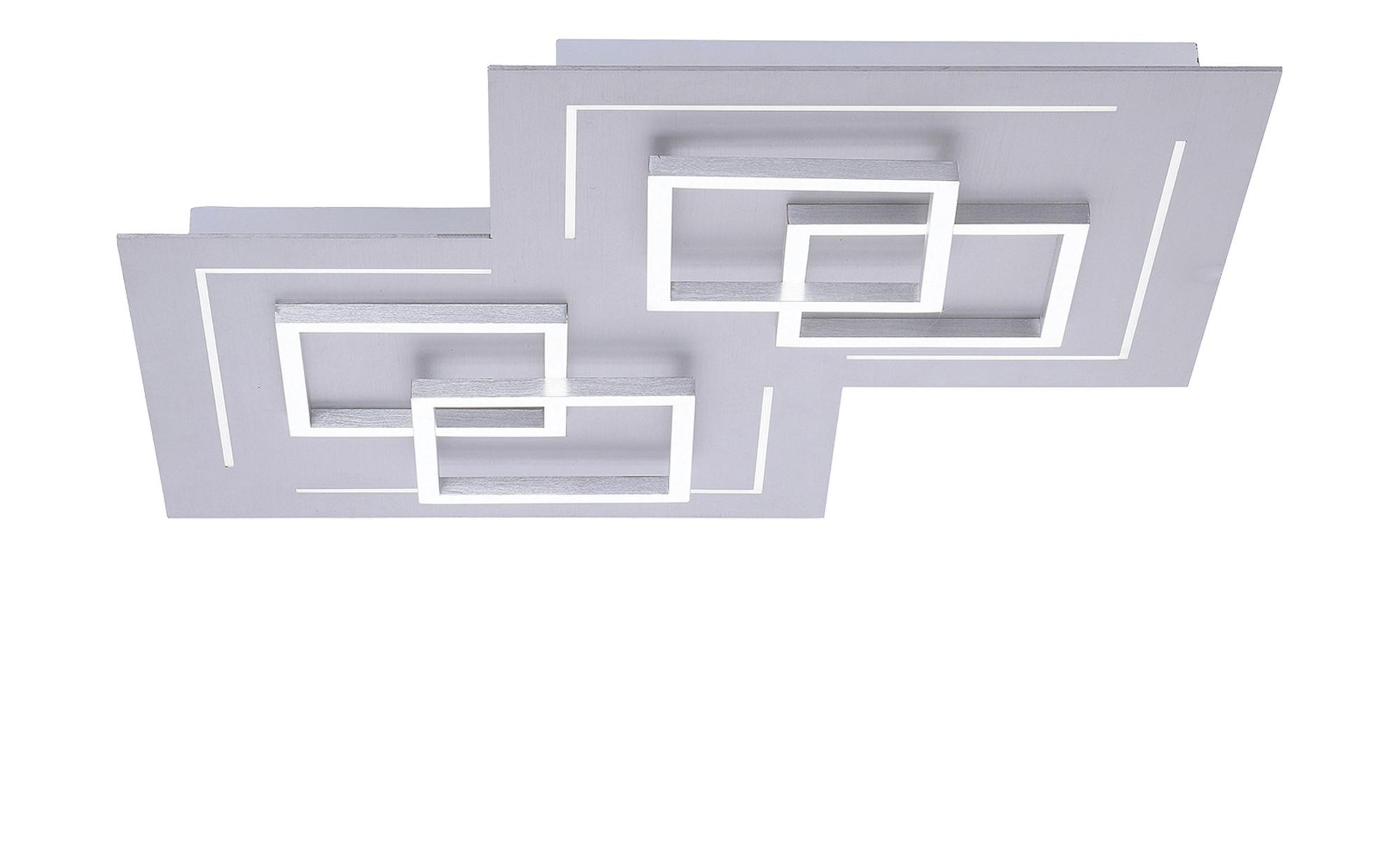 Q-Smart Home Lights Deckenleuchte, 1-flammig, alufarben ¦ silber ¦ Maße (cm): B: 60 H: 6,5 Lampen & Leuchten > Innenleuchten > Deckenleuchten - Höffner