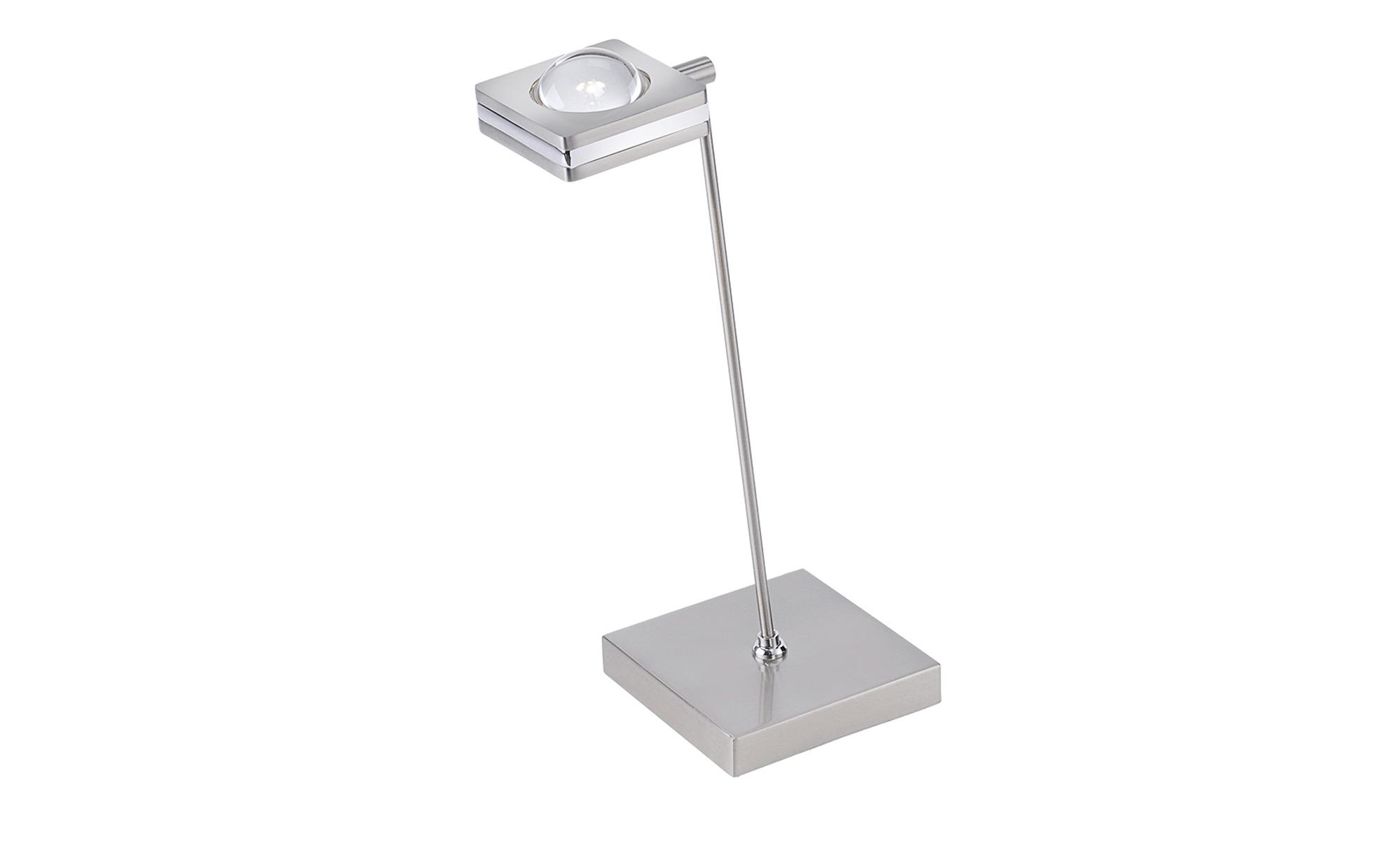 Q-Smart Home Lights Tischleuchte, 1-flammig, nickel matt ¦ silber ¦ Maße (cm): B: 20,5 H: 41 Lampen & Leuchten > Innenleuchten > Tischlampen - Höffner