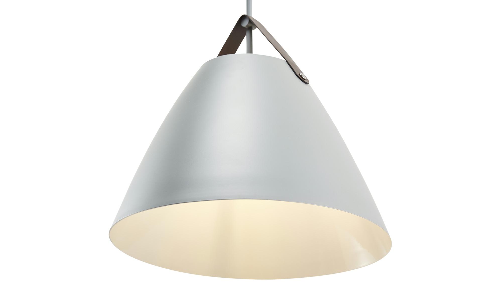 HOME STORY Pendelleuchte, 1-flammig, grau ¦ grau ¦ Maße (cm): B: 36 H: 150 Lampen & Leuchten > Innenleuchten > Pendelleuchten - Höffner
