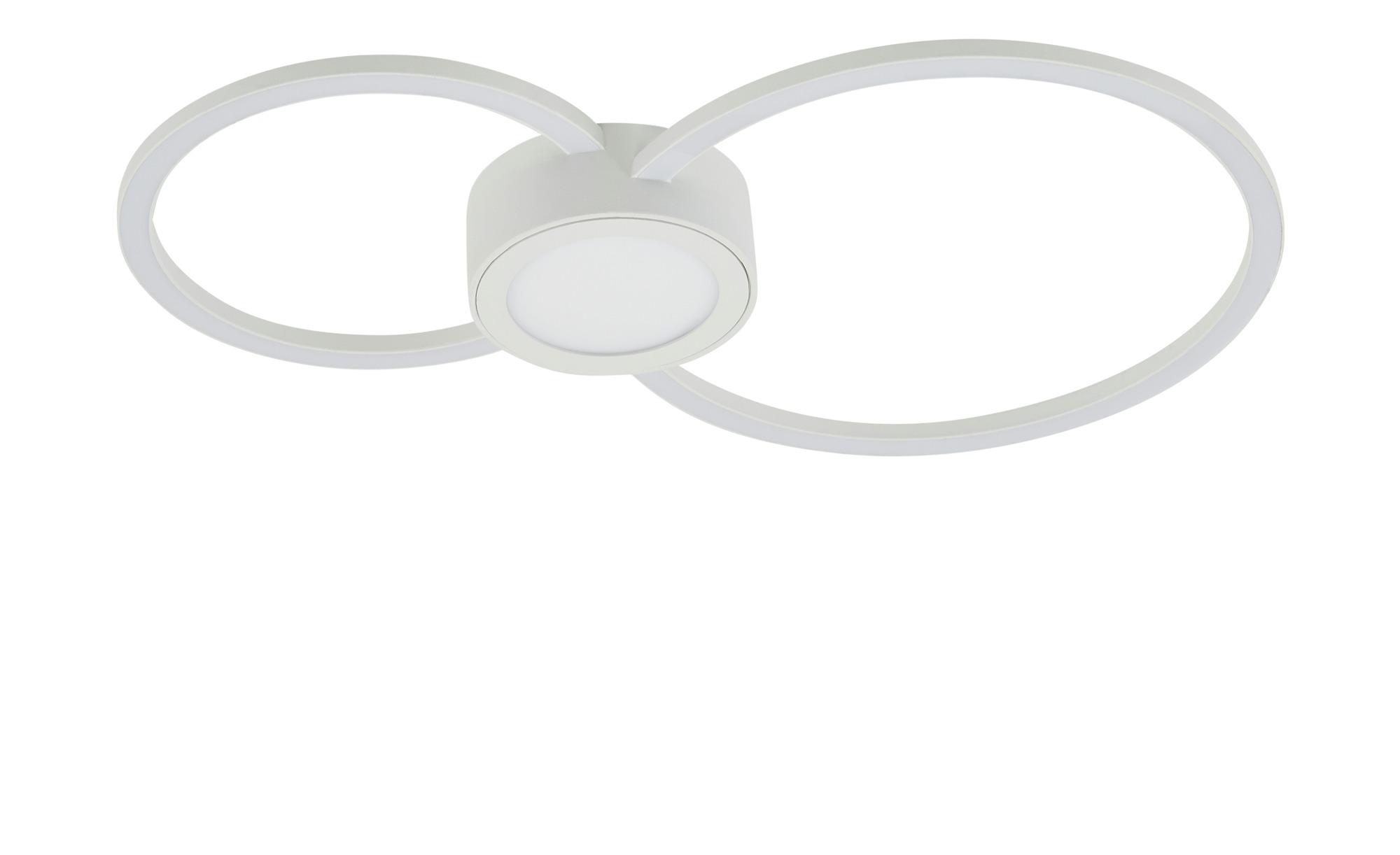 KHG LED-Deckenleuchte, 3-flammig, weiß ¦ weiß ¦ Maße (cm): B: 26 H: 4 Lampen & Leuchten > Innenleuchten > Deckenleuchten - Höffner