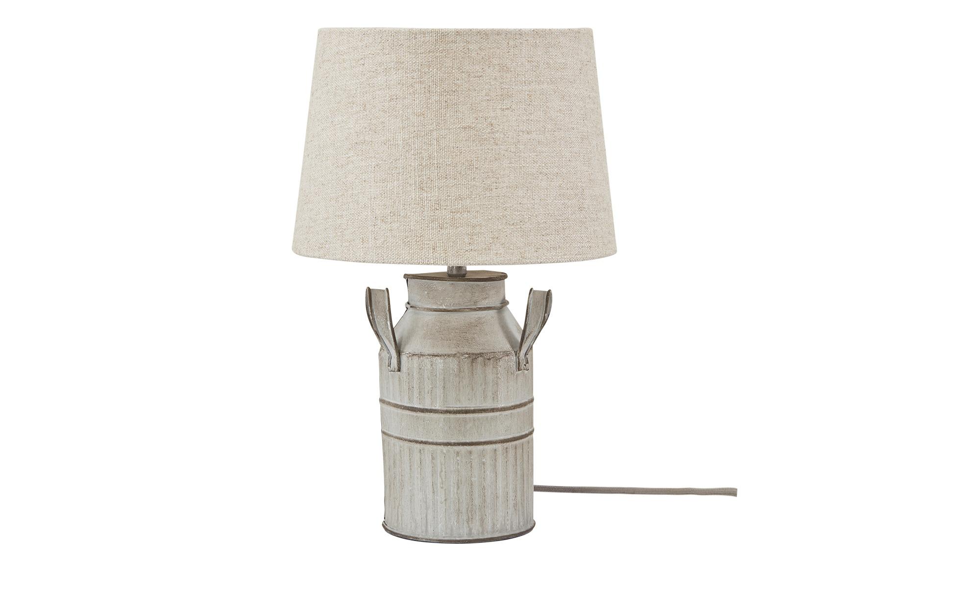 Tischleuchte, 1-flammig `Milchkanne´ klein ¦ beige ¦ Maße (cm): H: 40 Ø: 12 Lampen & Leuchten > Innenleuchten > Tischlampen - Höffner
