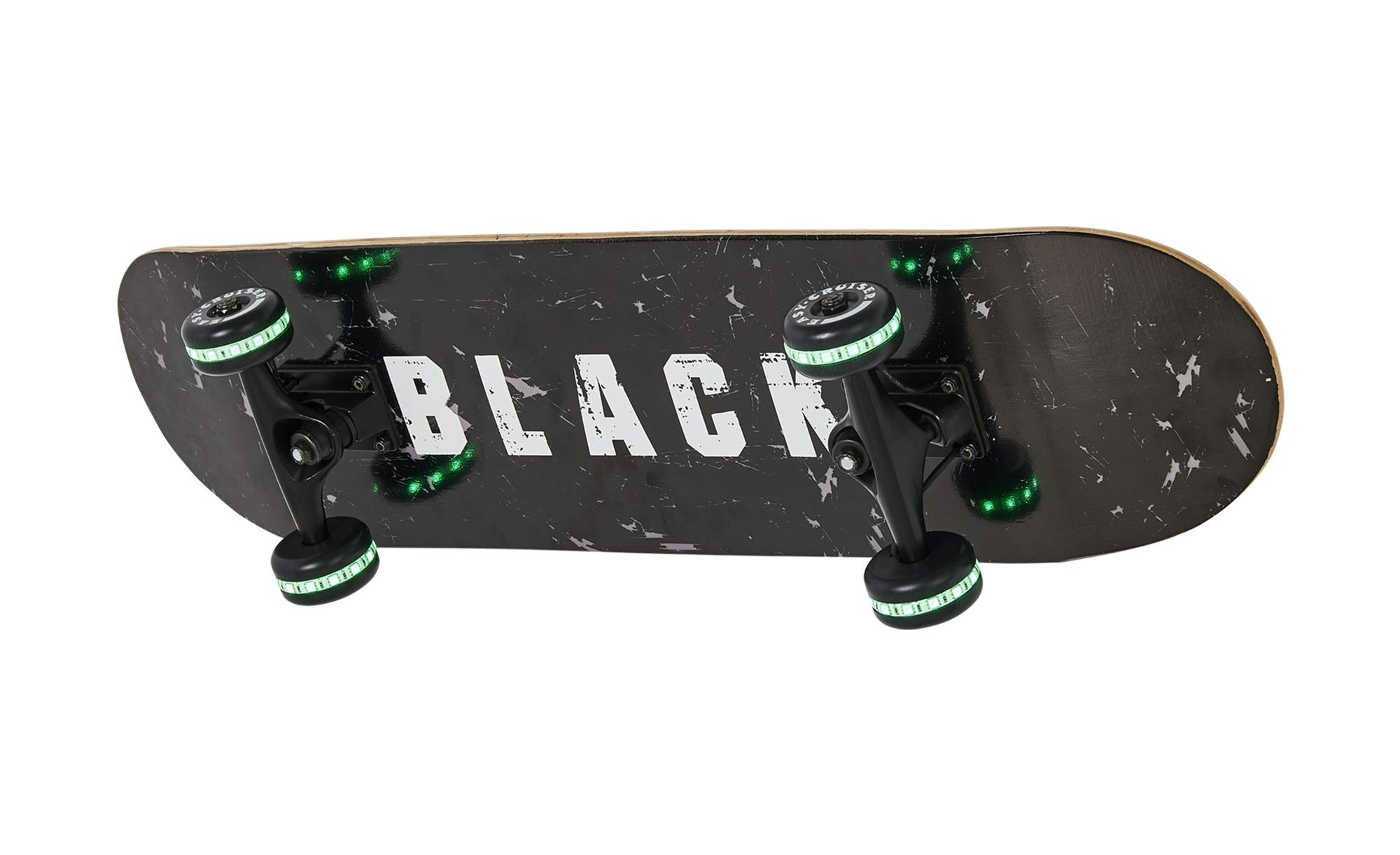 LED-Wandleuchte  Skateboard ¦ schwarz ¦ Maße (cm): B: 20,2 H: 19 Lampen & Leuchten > Innenleuchten > Kinderlampen - Höffner