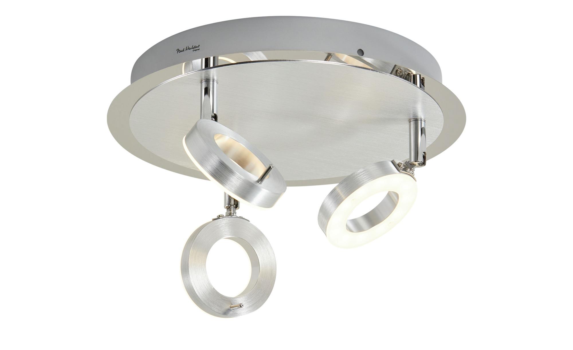 Paul Neuhaus LED Bad Deckenstrahler, 20 flammig, Aluminium, gefunden bei  Möbel Höffner
