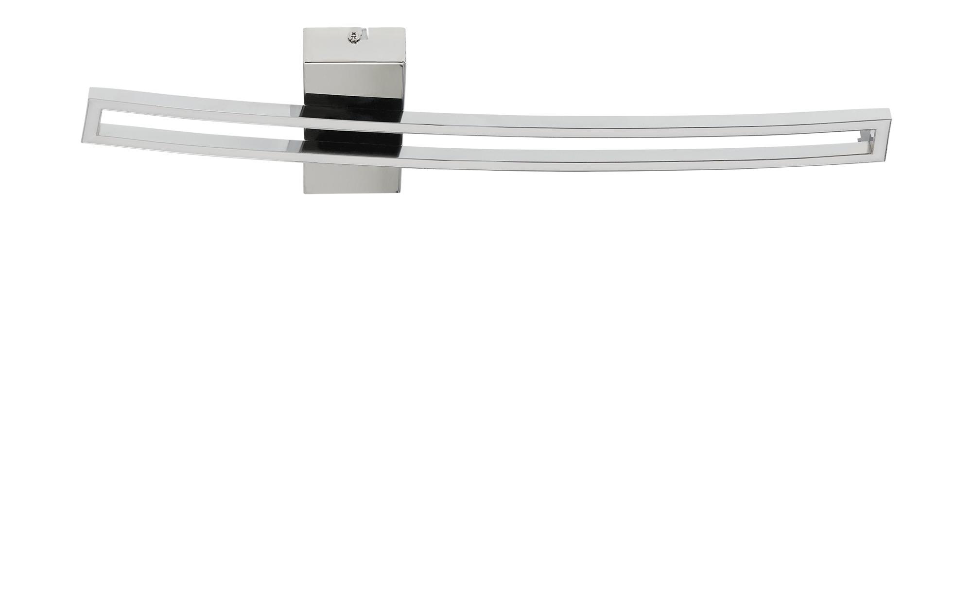 KHG LED-Deckenleuchte, 1-flammig, chrom ¦ silber ¦ Maße (cm): B: 16 H: 5 Lampen & Leuchten > Innenleuchten > Deckenleuchten - Höffner