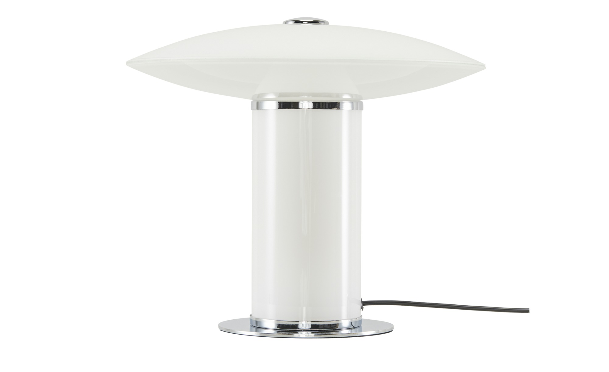 Meisterleuchten LED-Tischleuchte, Glas weiß ´Pilz´ ¦ weiß ¦ Maße (cm): H: 30 Ø: 32 Lampen & Leuchten > Innenleuchten > Tischlampen - Höffner