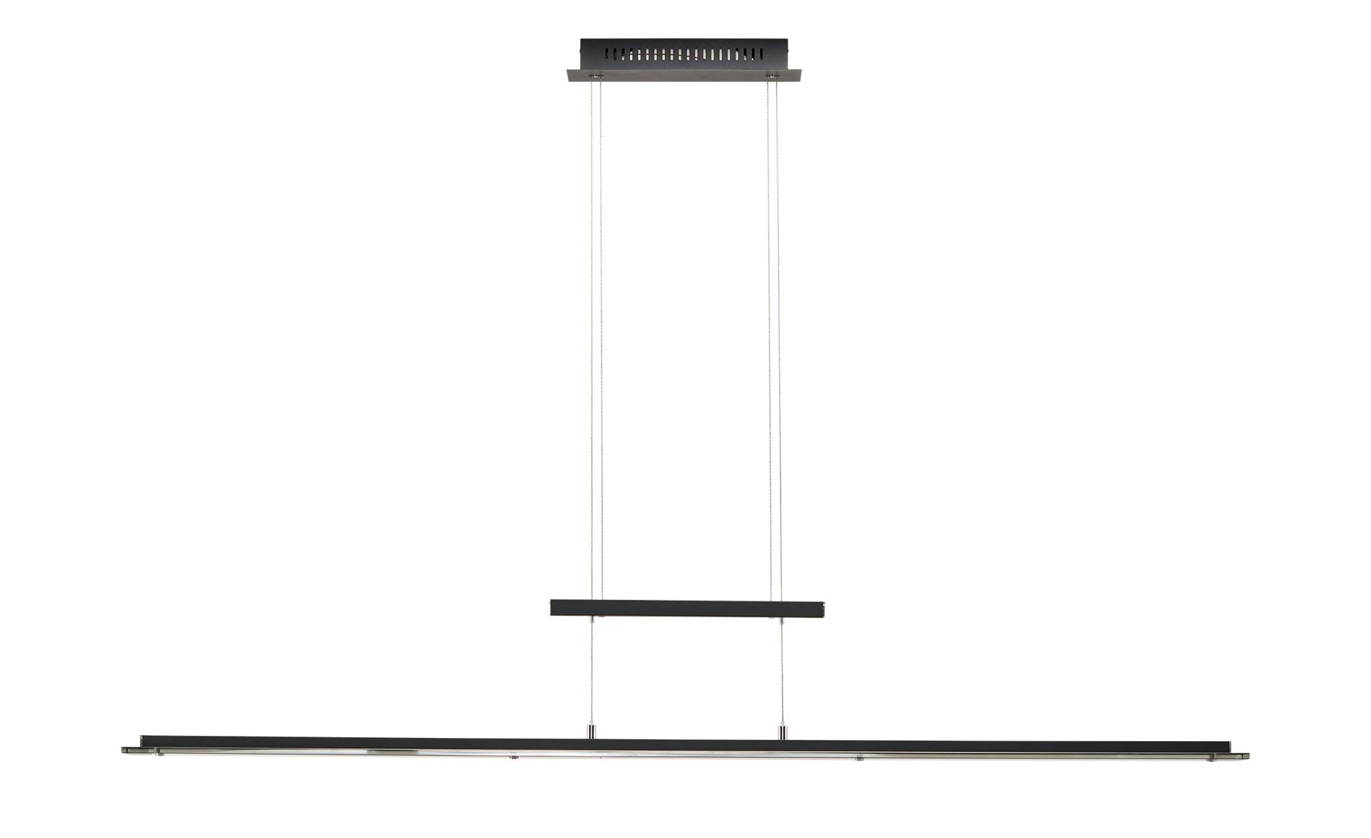 Fischer-Honsel Pendelleuchte, 1-flammig, schwarz/ Rauchglas ¦ schwarz ¦ Maße (cm): B: 9 H: 150 Lampen & Leuchten > LED-Leuchten > LED-Pendelleuchten - Höffner