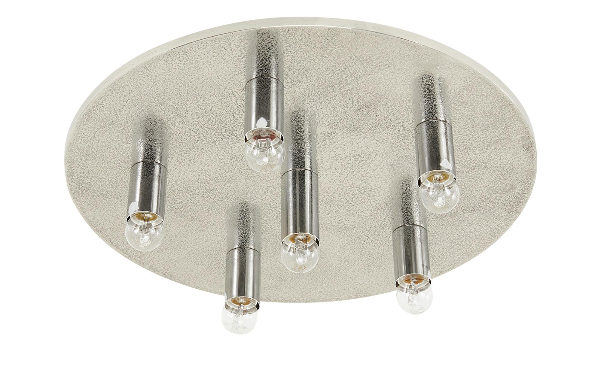 Fischer-Honsel Deckenleuchte, 6-flammig, alufarben ¦ silberØ: 55 Lampen & Leuchten > Innenleuchten > Deckenleuchten - Höffner